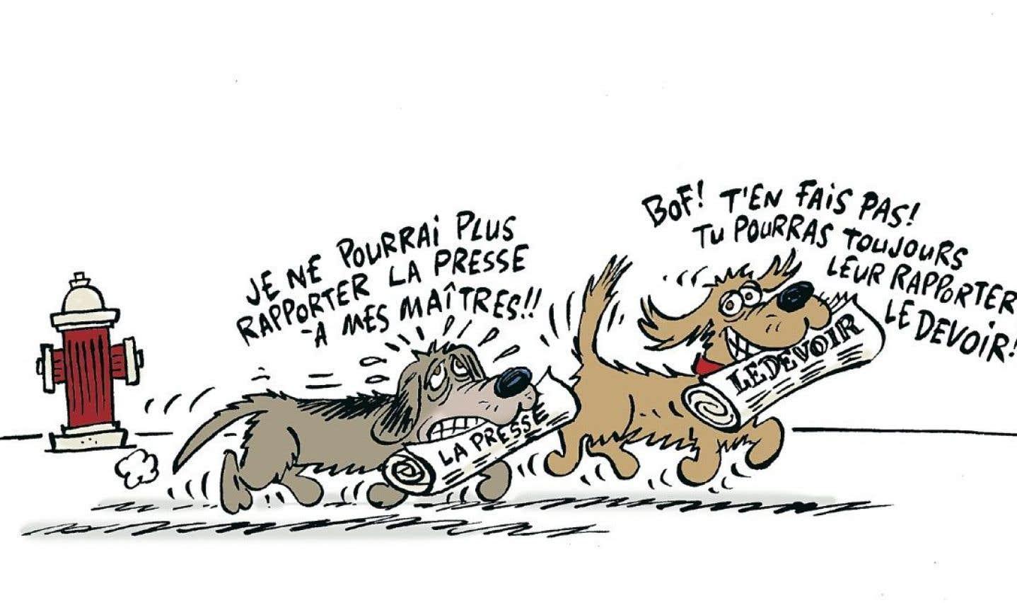 «La Presse+» moins «La Presse» papier
