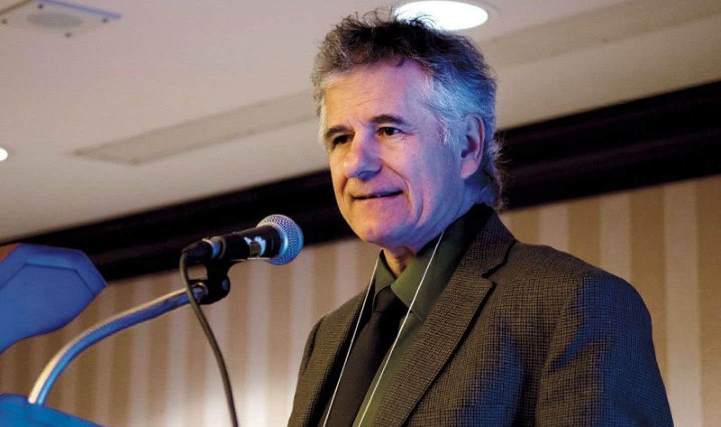Michel Tremblay, le président de la Fédération des professionèles (FP) de la CSN