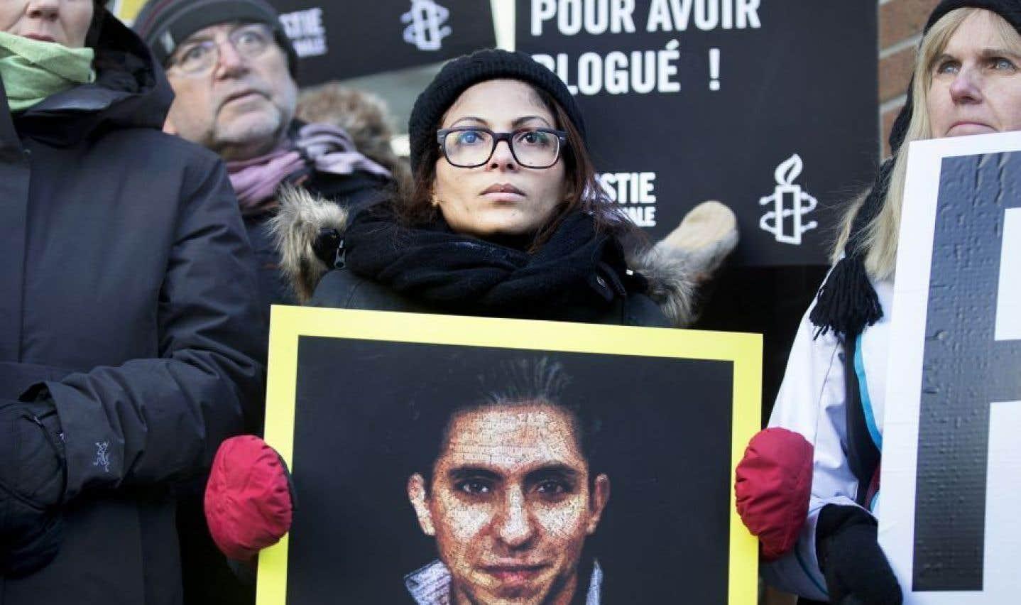 Le prix Sakharov pour la liberté de l'esprit décerné à Raïf Badawi