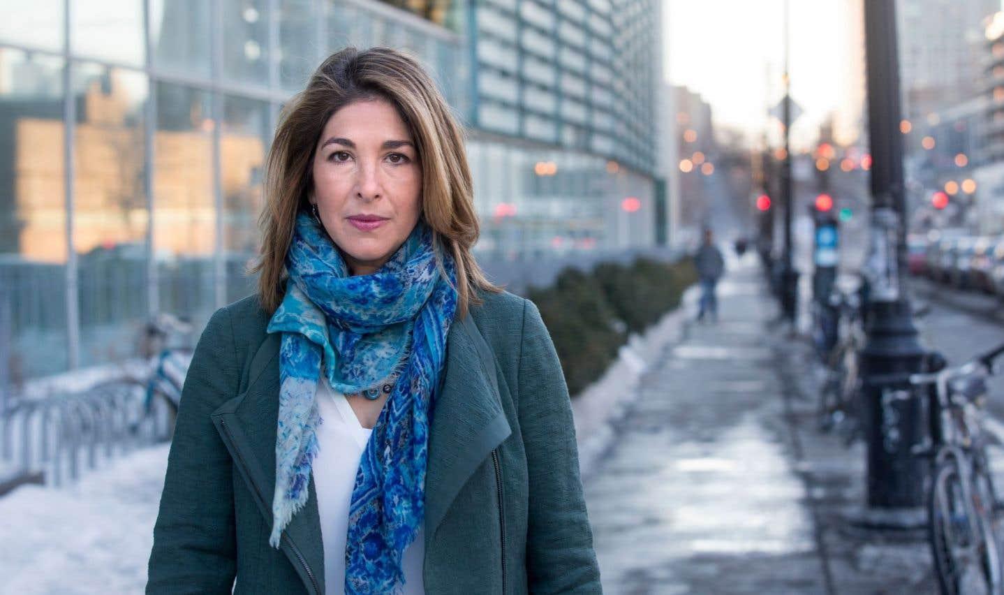 Naomi Klein est l'auteure de «La Stratégie du choc : Montée d'un capitalisme du désastre».