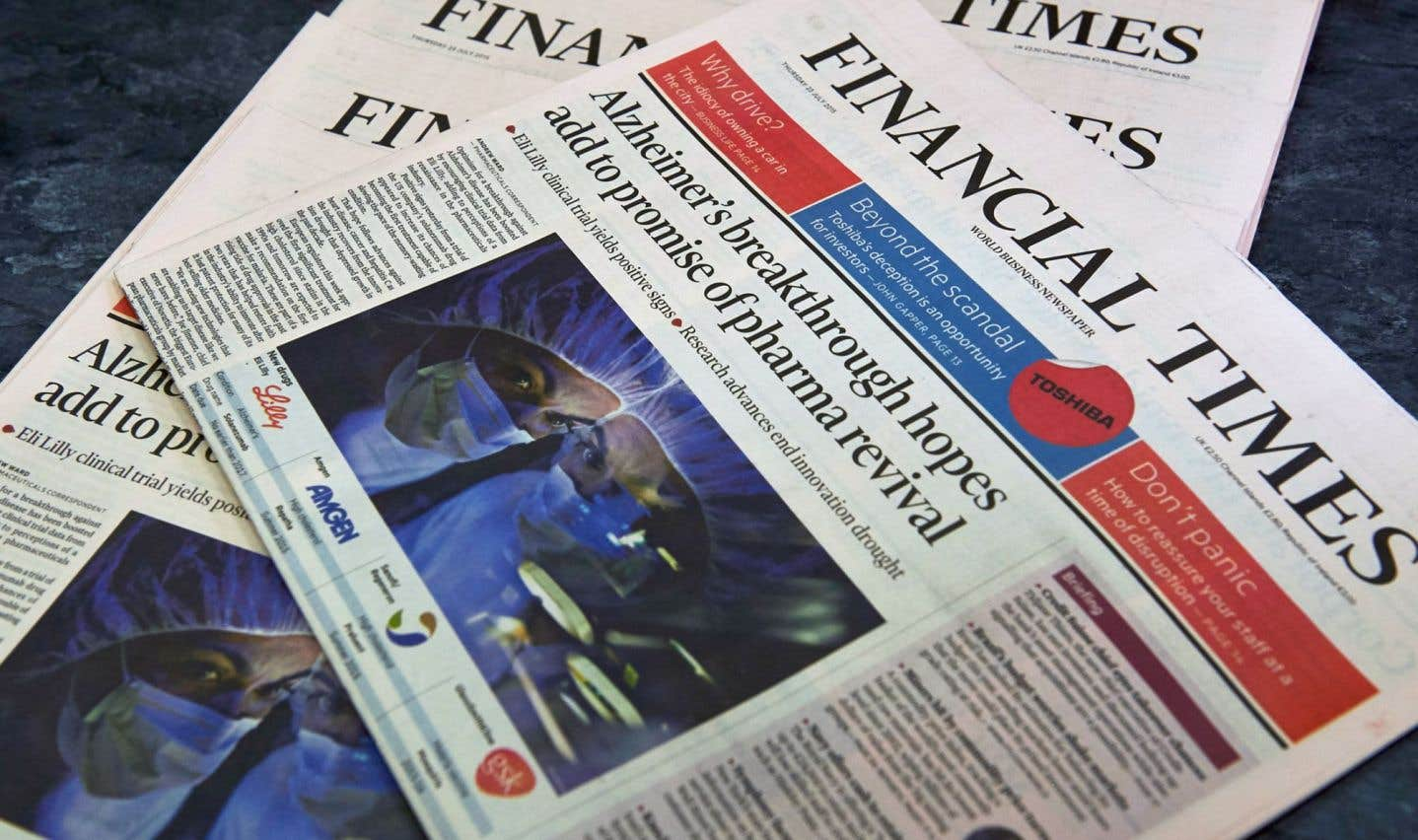 Le FT Group évalue à 750 000 la diffusion quotidienne du «Financial Times», dont 550 000 souscriptions payantes à son édition en ligne.
