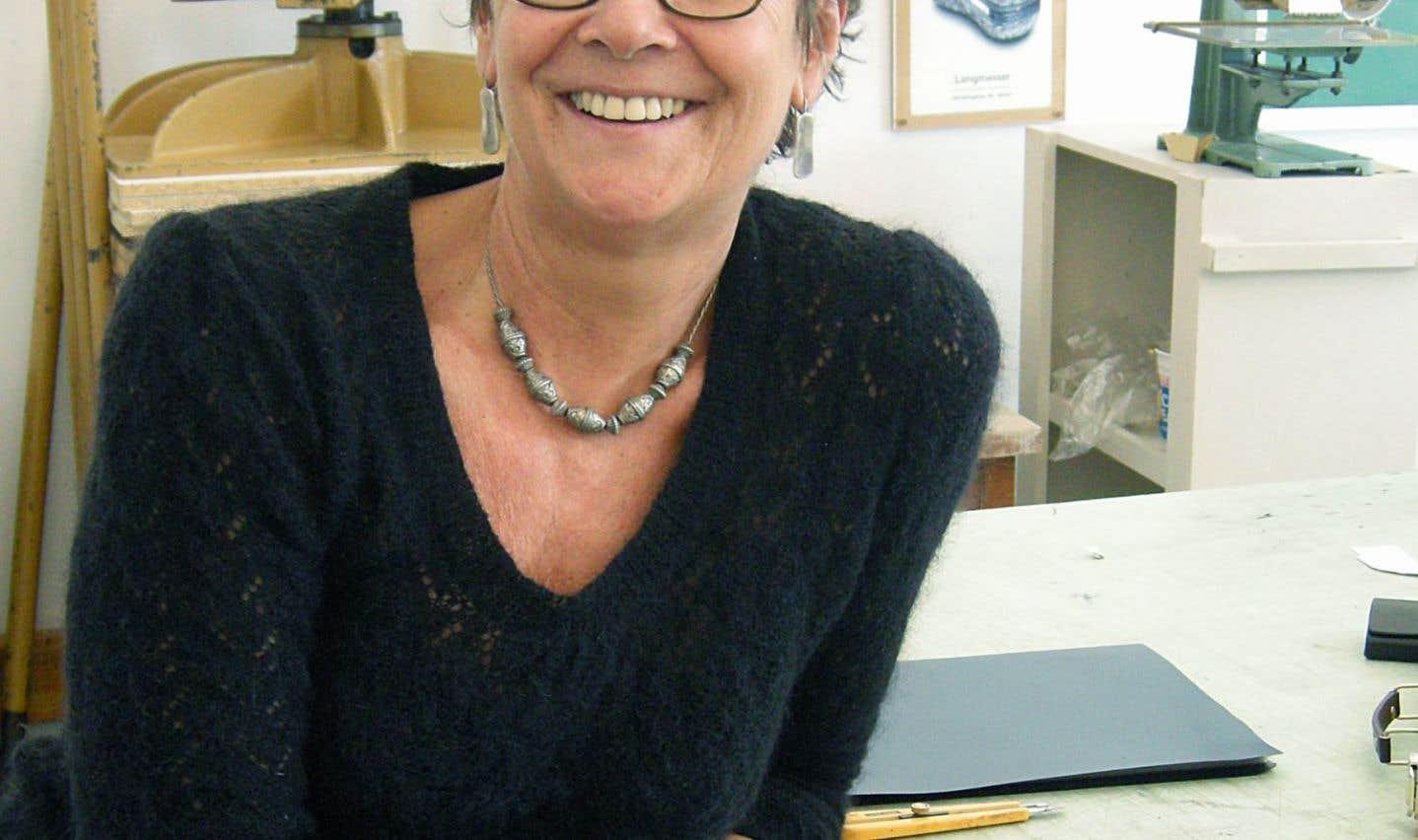 La relieuse Lorraine Choquet