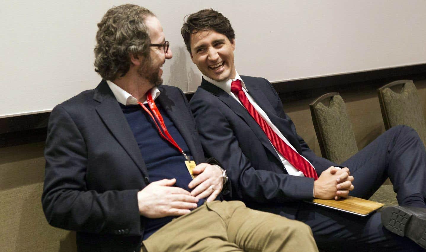 Peu de Québécois dans la garde rapprochée de Justin Trudeau