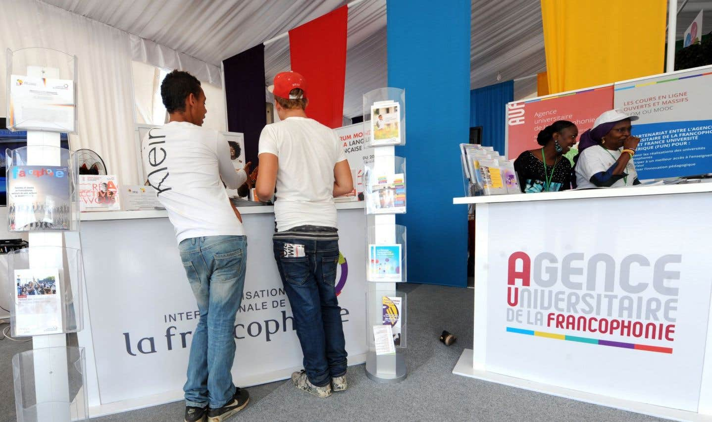 «Le contexte dans lequel œuvre l'AUF [est] celui des stratégies définies par les sommets de la Francophonie, dont le dernier à Dakar a beaucoup mis l'accent sur la Francophonie économique», explique Jean-Paul de Gaudemar.