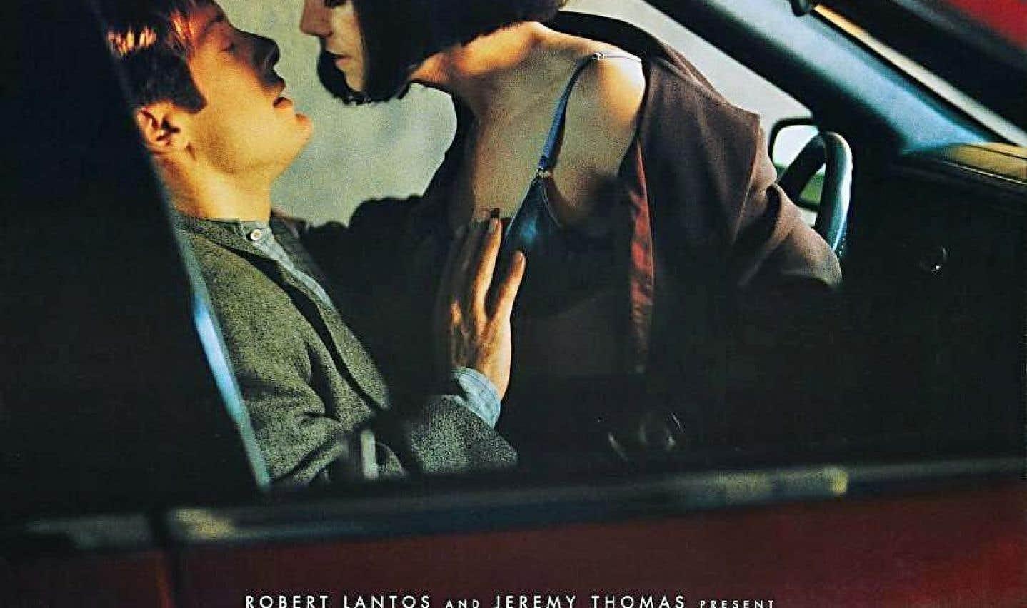 L'affiche du film «Crash», de David Cronenberg