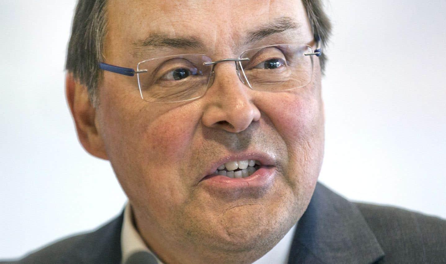 Le recteur de l'UdeM, Guy Breton, estime  qu'il «livre la marchandise»