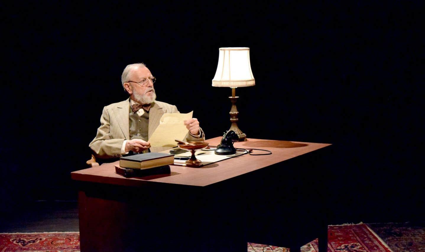 Freud, savamment incarné par Alain Fournier