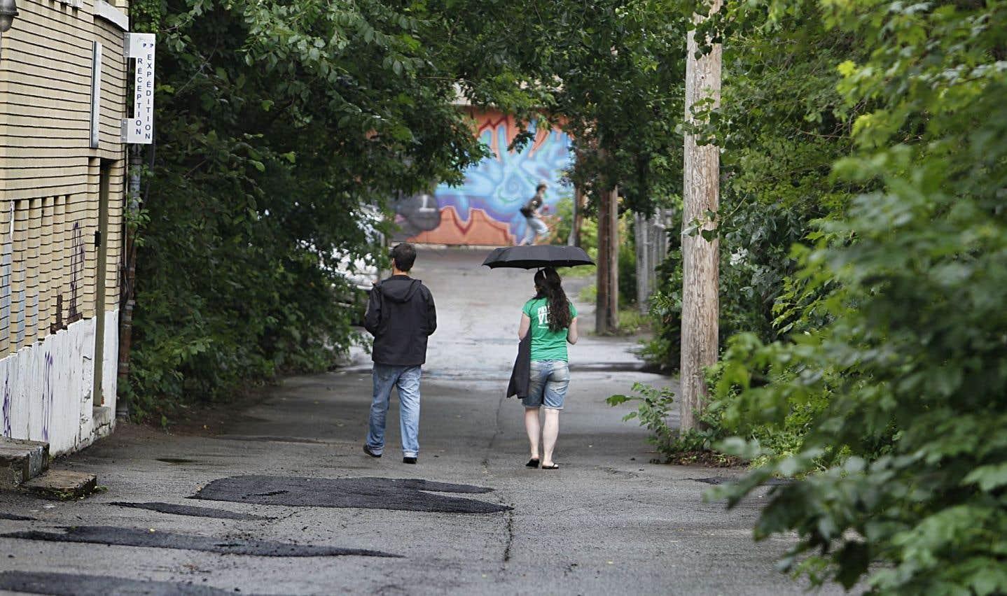 Les Ruelles De Montreal Un Reseau Au Potentiel Unique Le