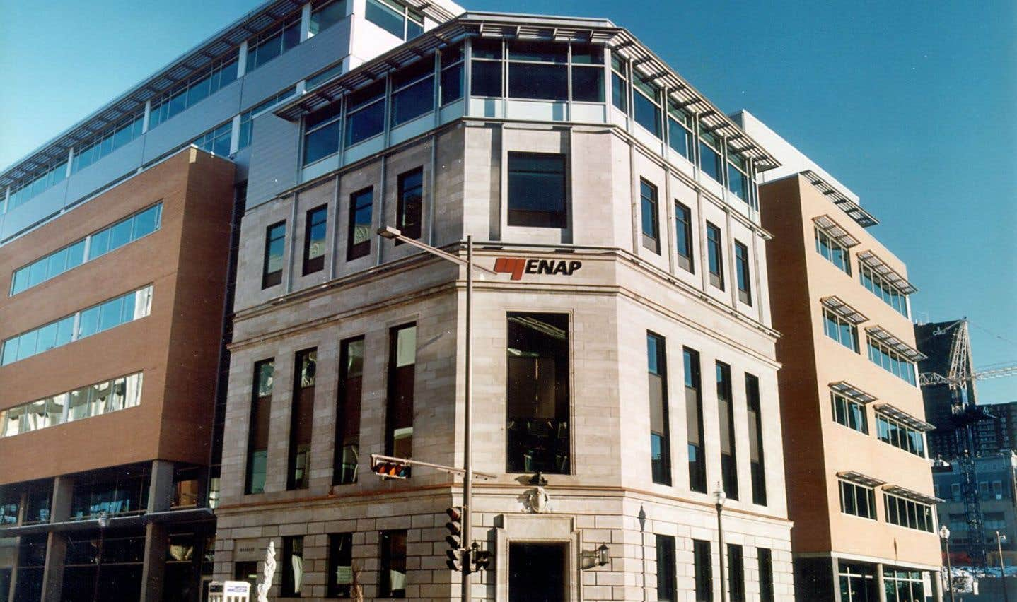 Le campus de l'ÉNAP à Québec