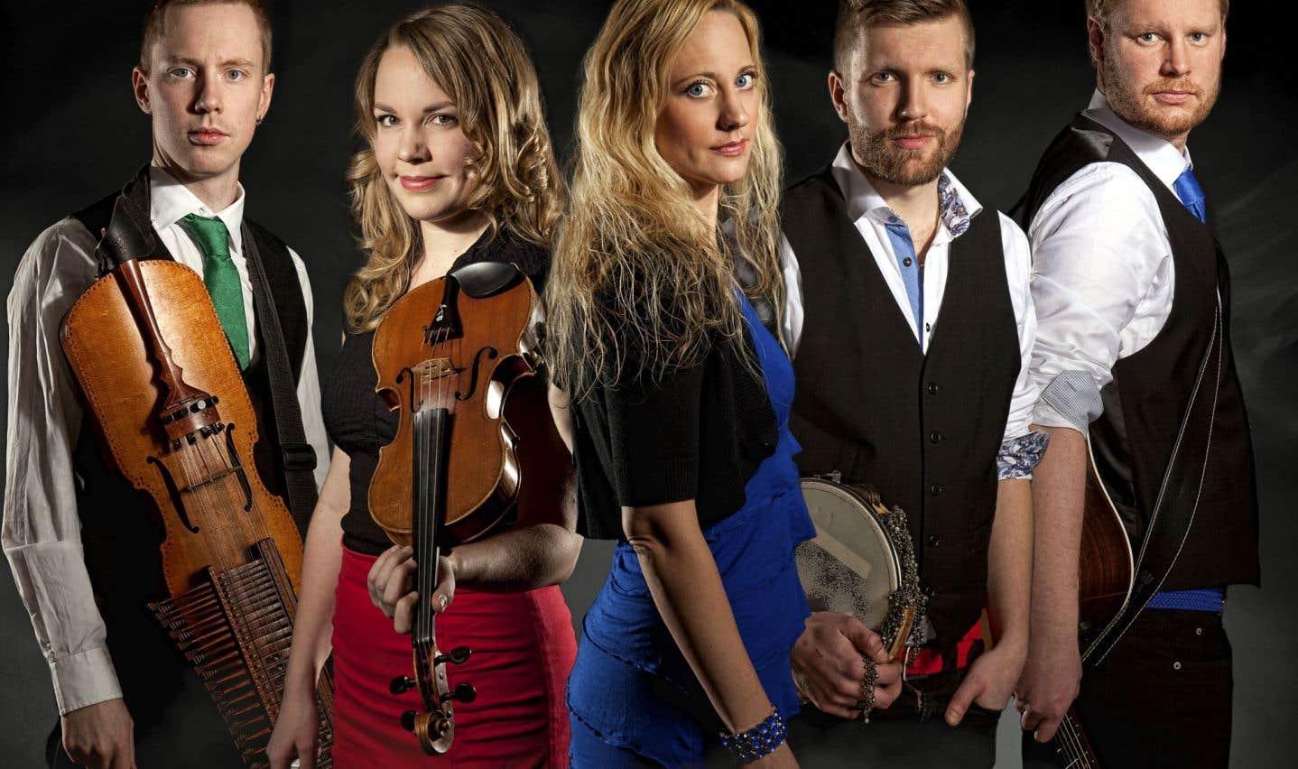Lyy, le quintette suédois qui est l'un des phares du trad scandinave, présentera un nouvel album lors de Chants de vielles.