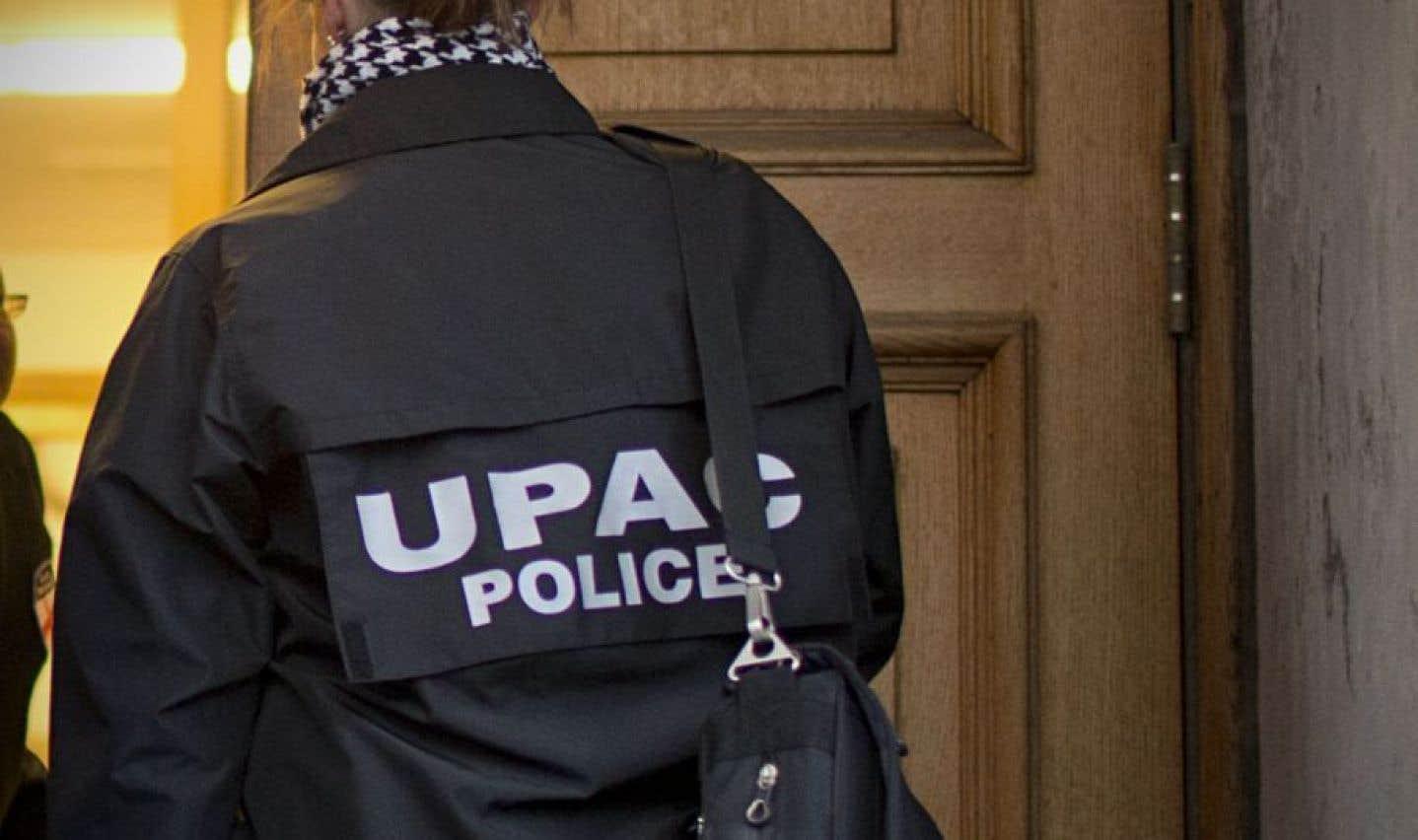 Il s'agit de la seconde opération de l'UPAC à Terrebonne en deux semaines.