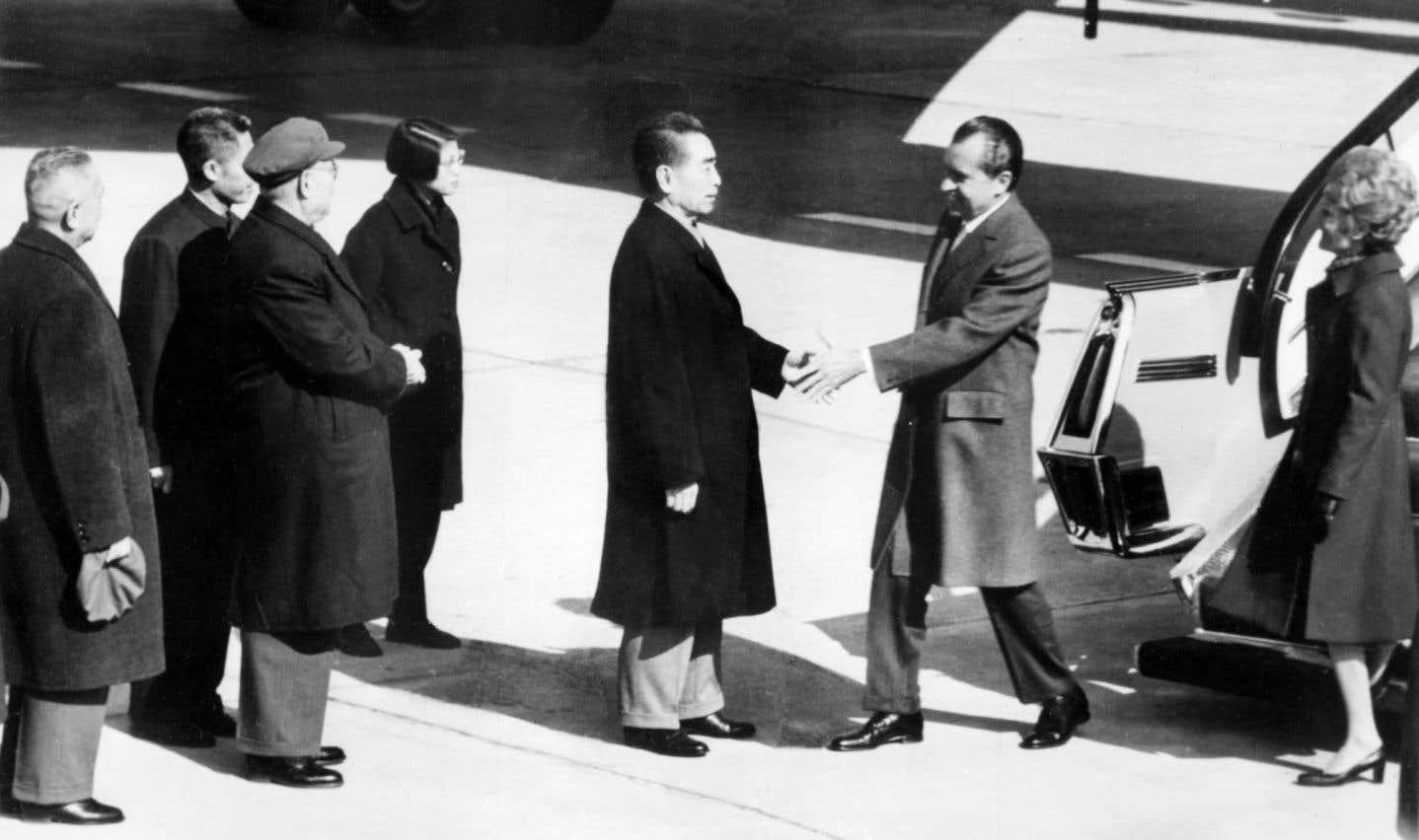 Le 21 février 1972, le jour où Nixon fut accueilli à Pékin par Zhou Enlai, la CIA a noté consciencieusement quels responsables chinois étaient présents à quel événement, révèlent les documents.