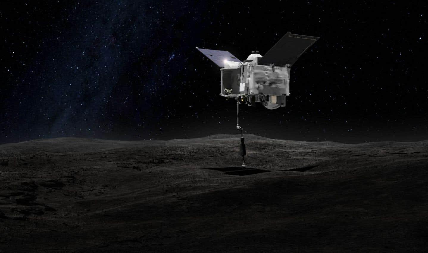 L'altimètre laser canadien OSIRIS-REx étudiera Bennu, un astéroïde susceptible d'entrer en collision avec la Terre vers la fin du XXIIe siècle.