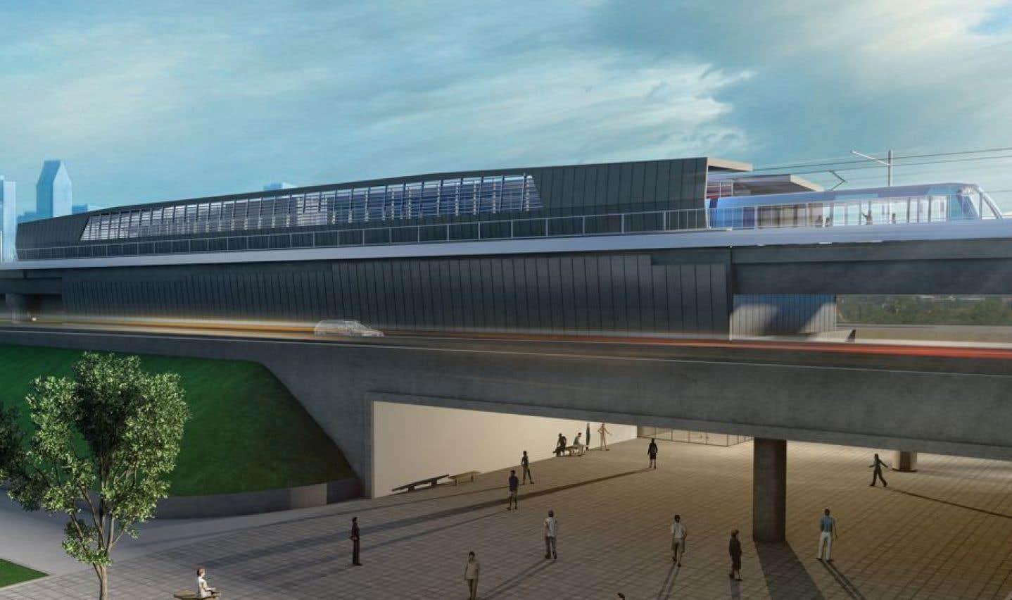 REM: la Caisse de dépôt vise un achalandage quotidien de 141000 passagers en 2022