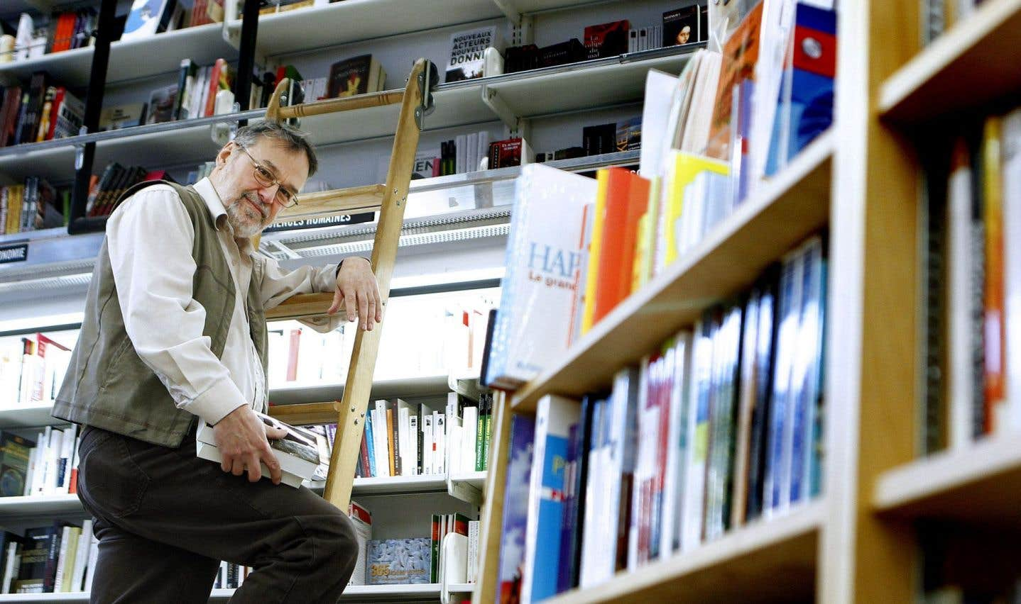 Le fondateur de la Librairie Pantoute, Denis Lebrun