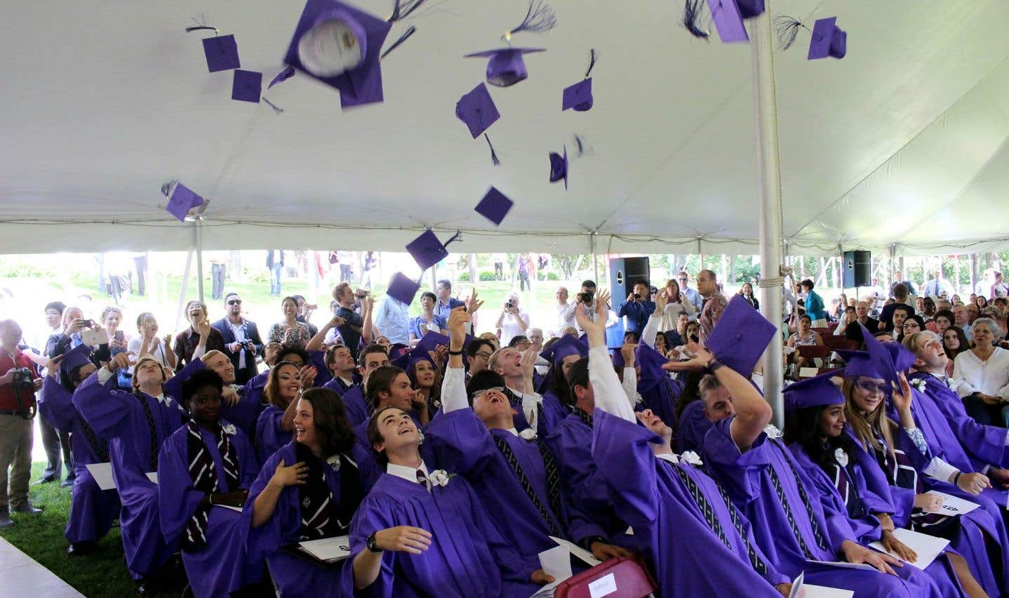Environ 40% des élèves du Collège viennent de l'international.