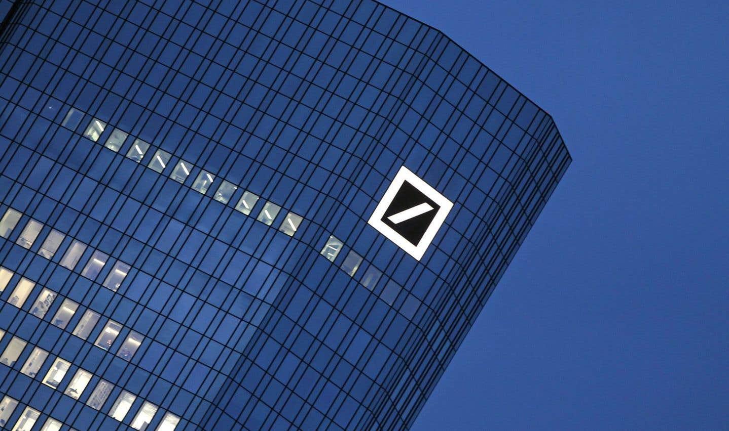 Le titre de Deutsche Bank malmené