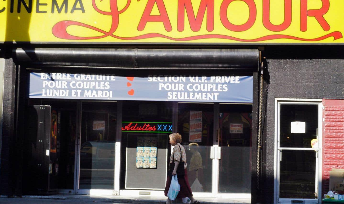 Le cinéma L'amour, autrefois The Pussycat, est sans doute le cinéma porno le plus populaire de Montréal.