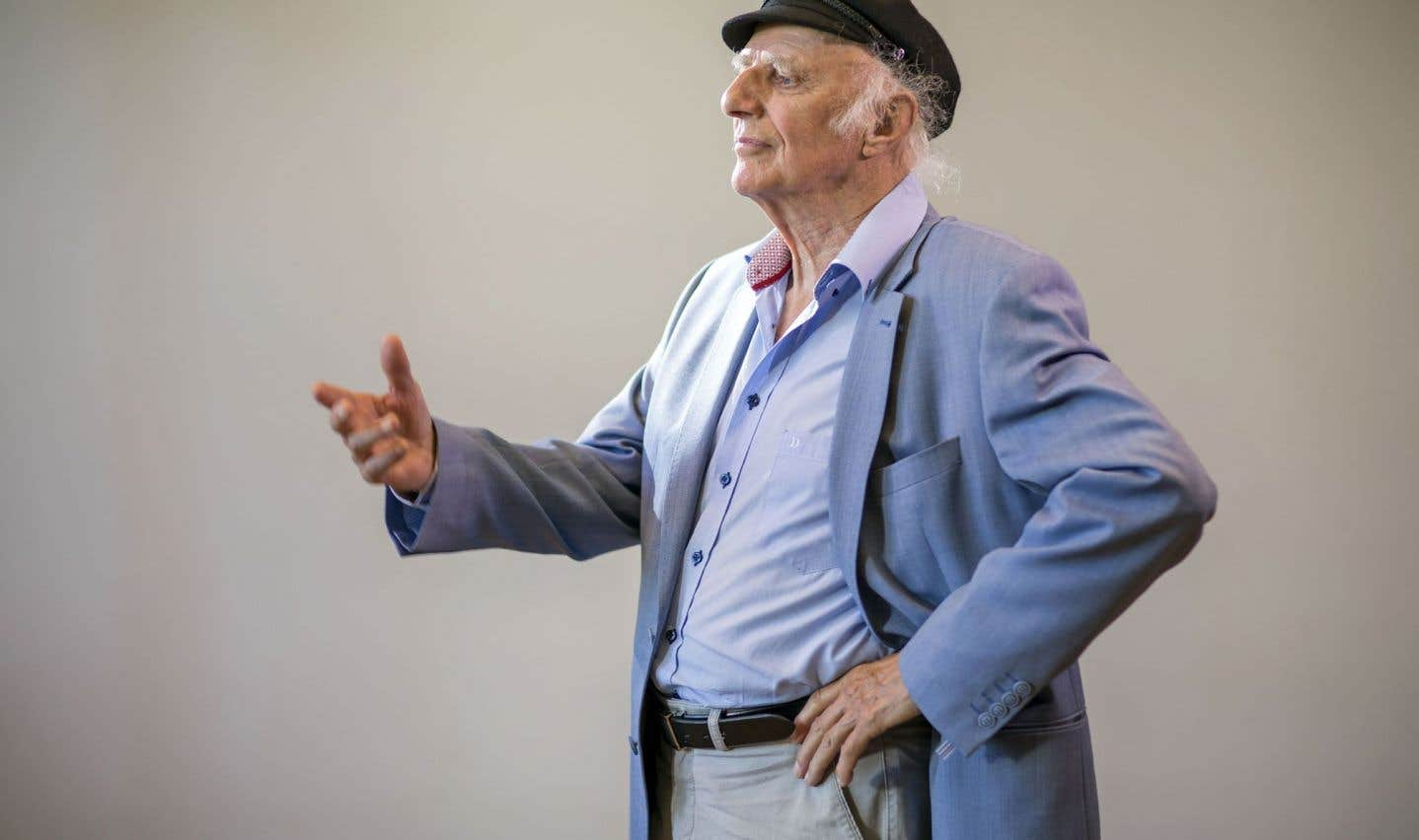 À 88ans, Gilles Vigneault n'en a que pour l'avenir