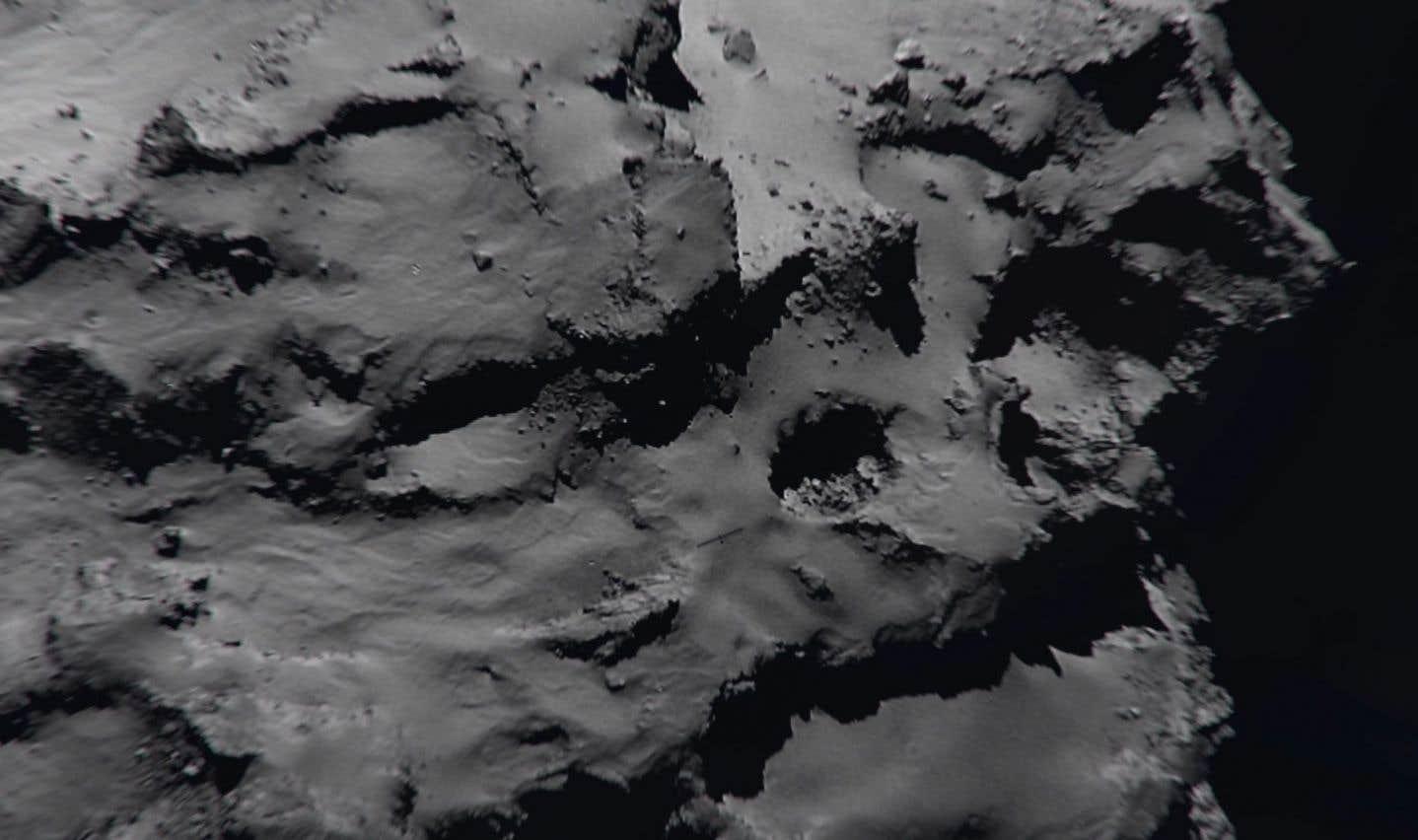 Lancée en mars2004, Rosetta, qui a parcouru 7,9milliards de kilomètres, escortait depuis août2014 la comète Tchourioumov-Guérassimenko, sur laquelle elle s'est écrasée.