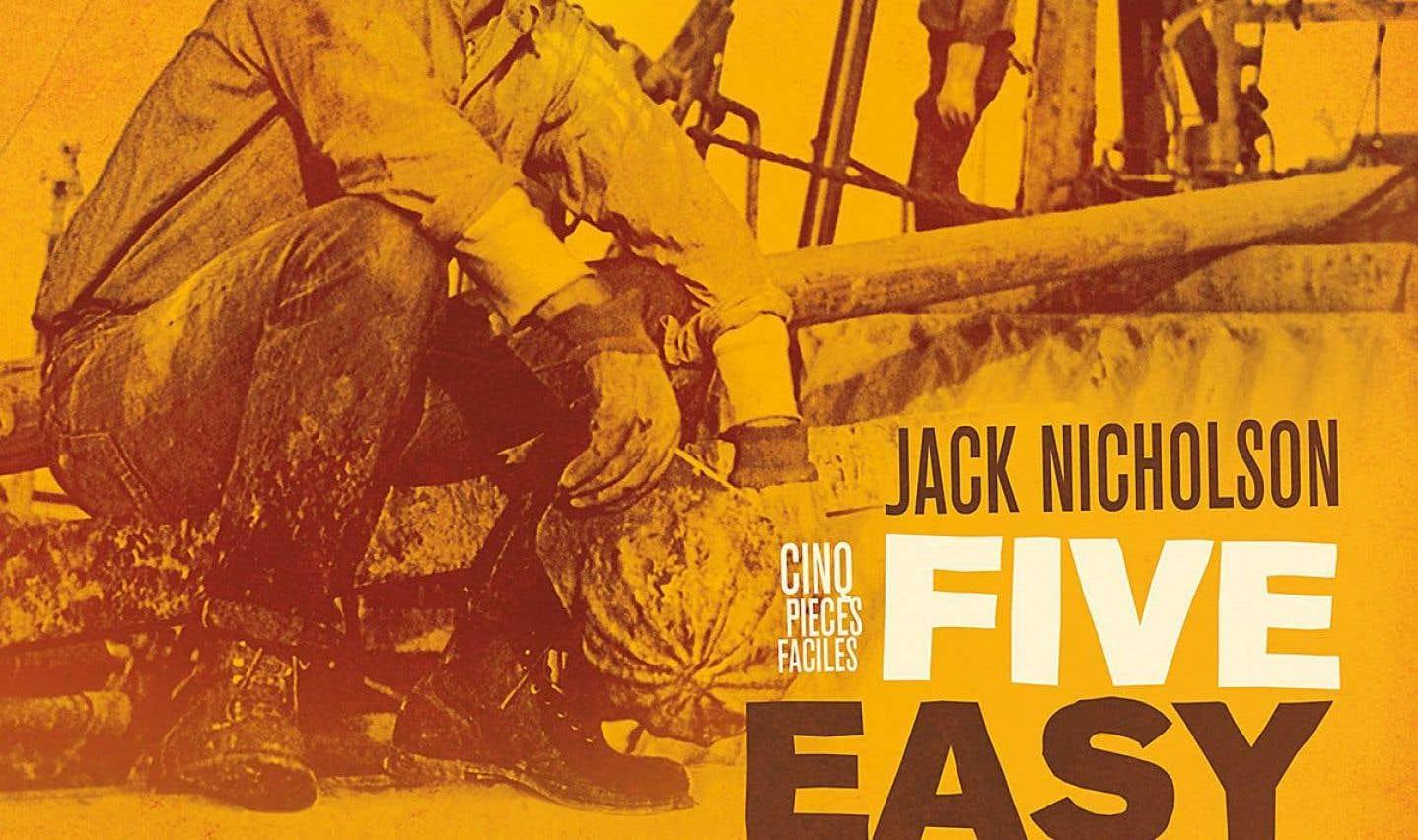 Affiche originale du film «Five Easy Pieces»