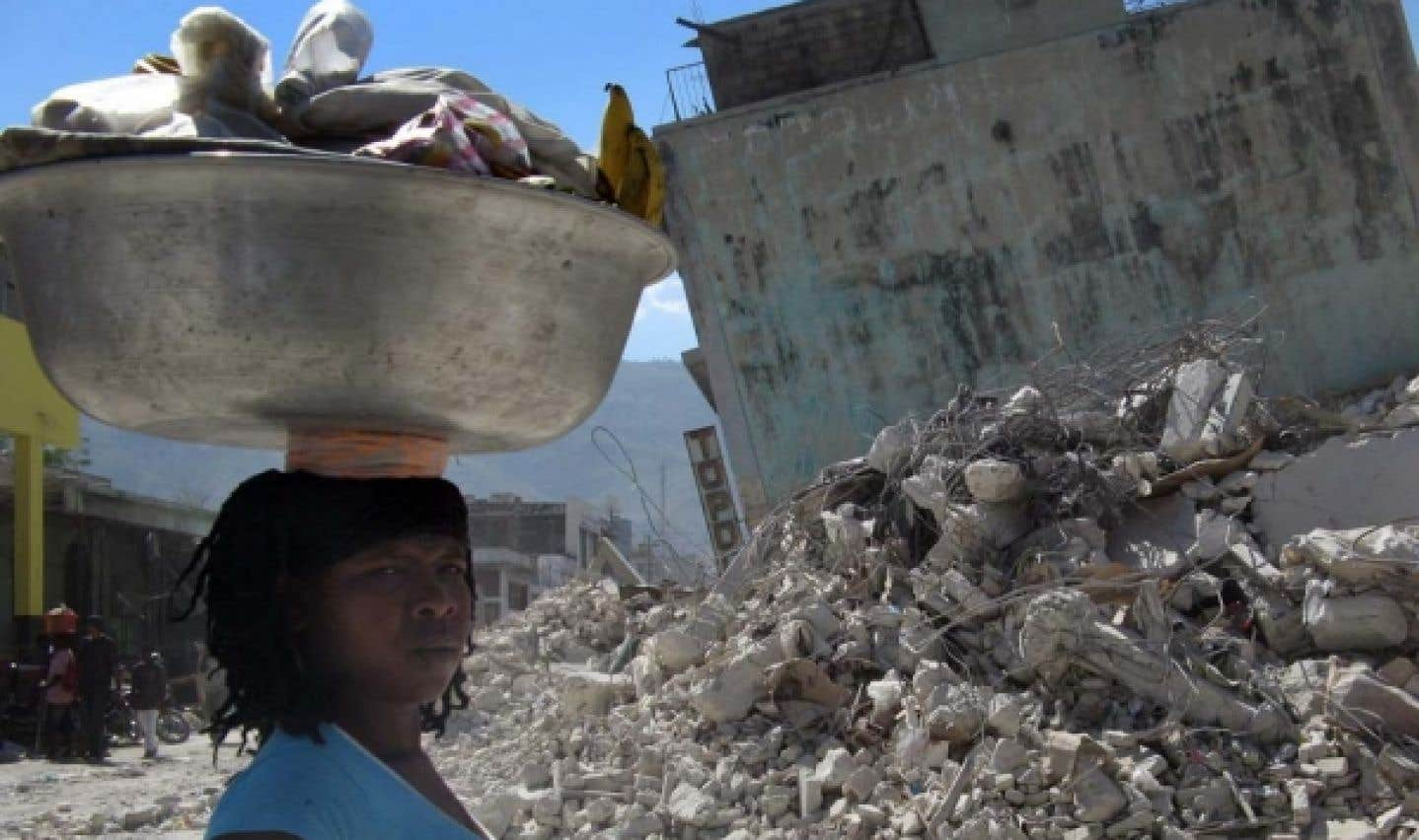 Dons pour Haïti: déjà 113 millions $ au Canada