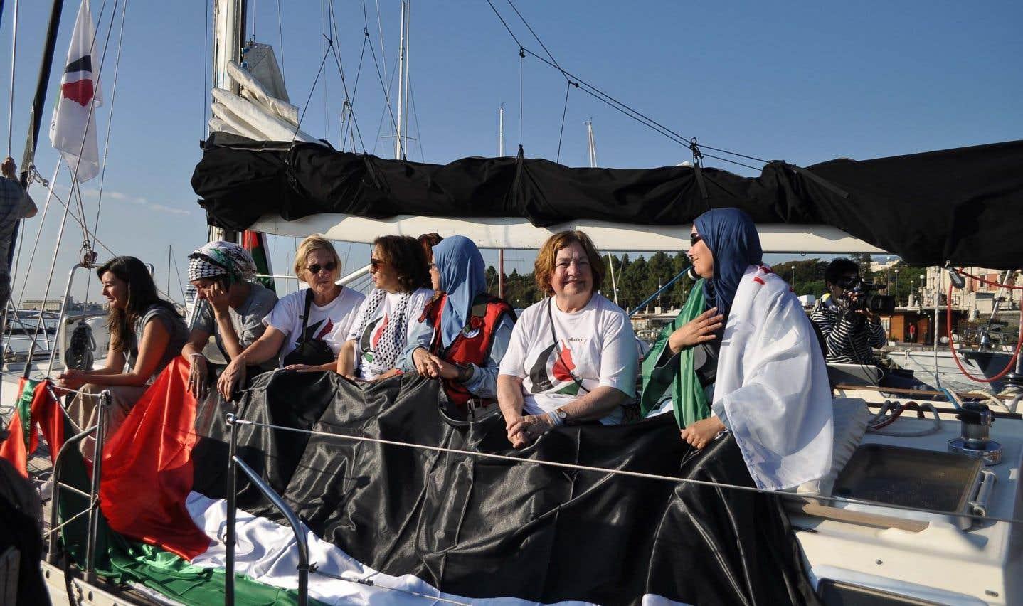 Un nouveau bateau cherche à briser le blocus de Gaza