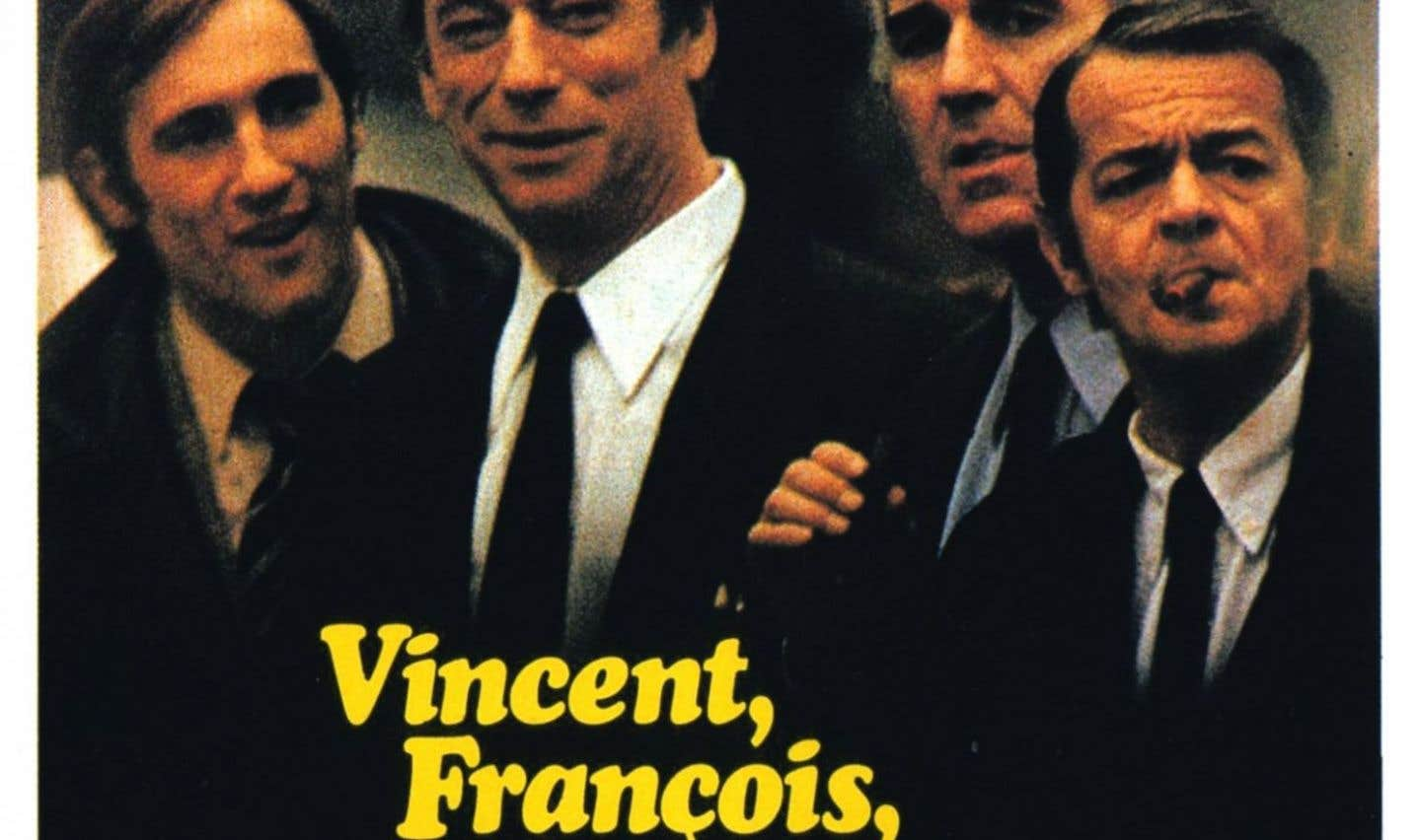 Affiche originale du film «Vincent, François, Paul… et les autres»
