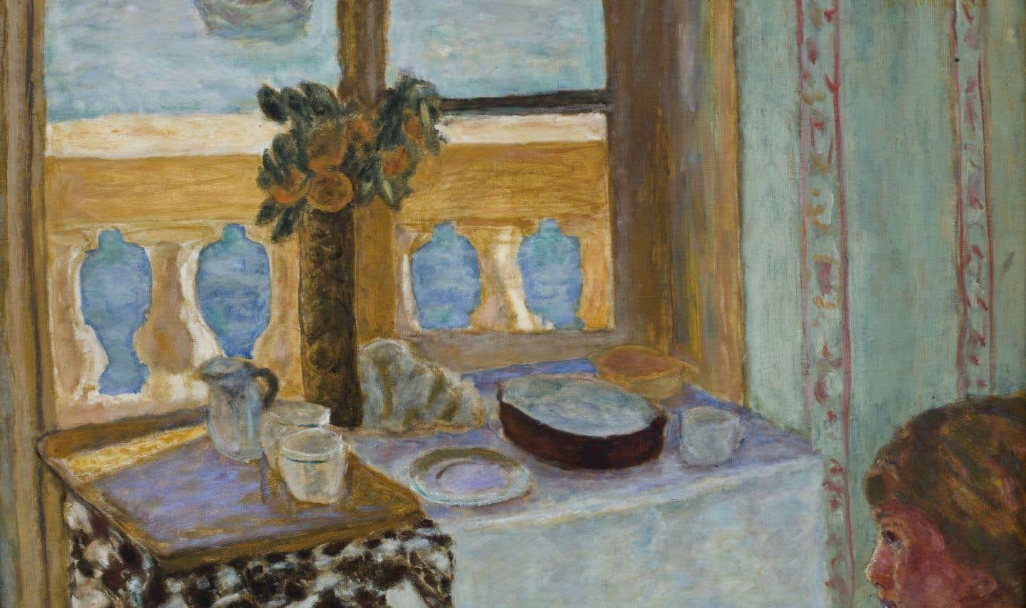 L'œuvre «Intérieur au balcon» (1919), de Pierre Bonnard
