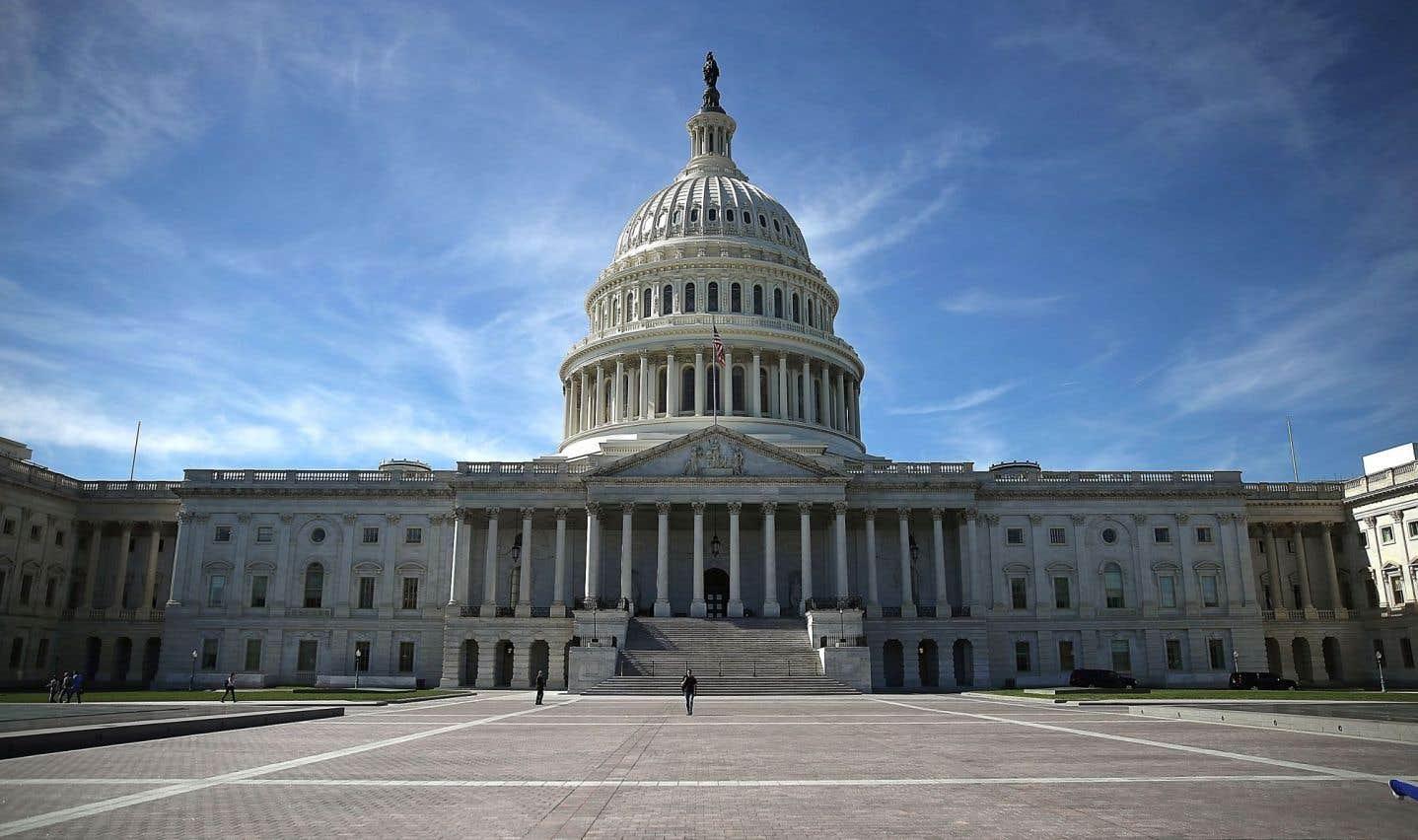 Le Capitole, à Washington. Le bâtiment abrite le Sénat et la Chambre des représentants.