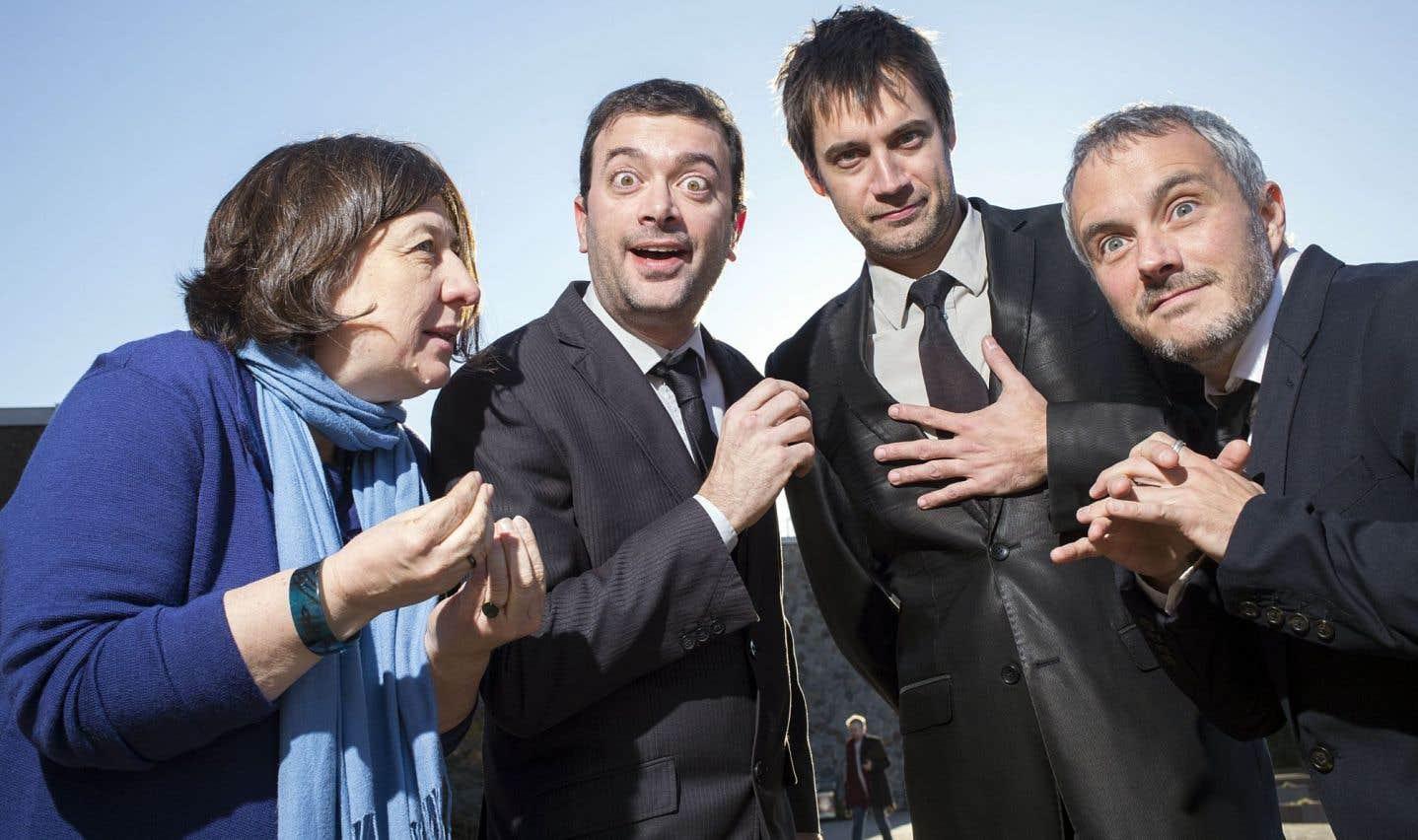 Nadine Vincent, Christian Vanasse, Jean-François Nadeau et Vincent Bolduc ont choisi de passer au tordeur les 15 dernières années.