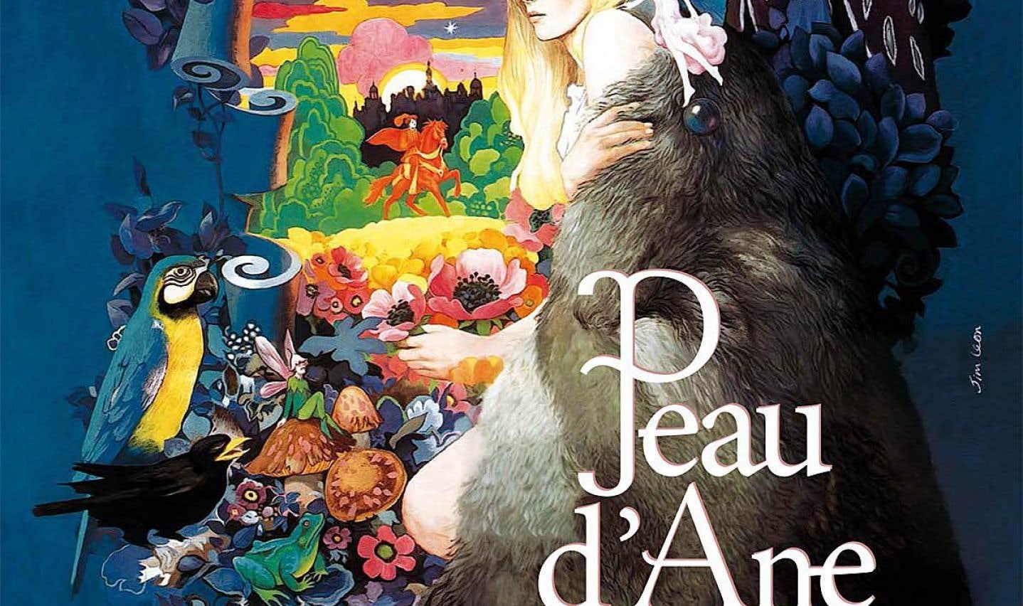 Affiche originale de «Peau d'âne», de Jacques Demy