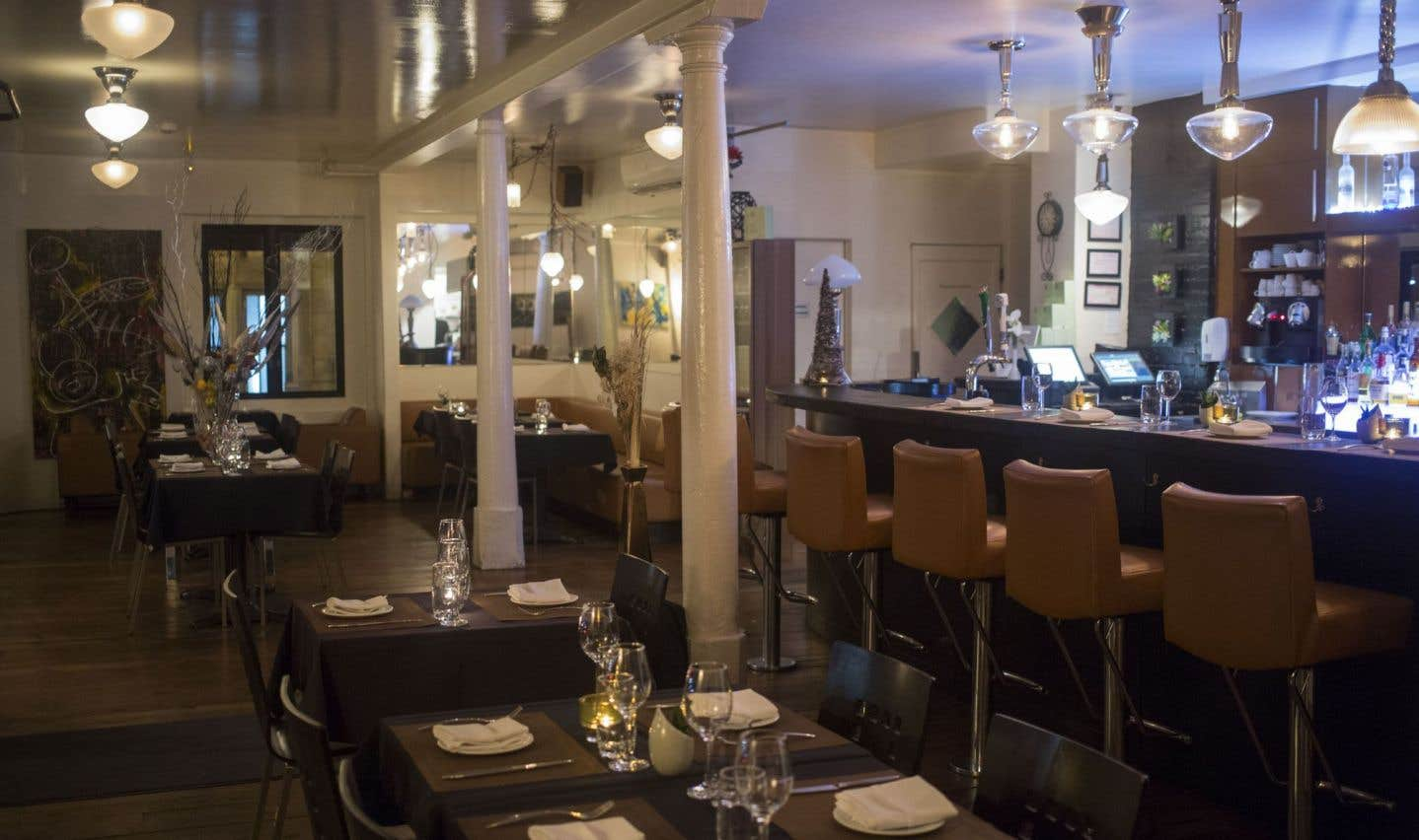 La salle à manger du Kitchenette est aménagée plutôt que décorée, et le confort prime.