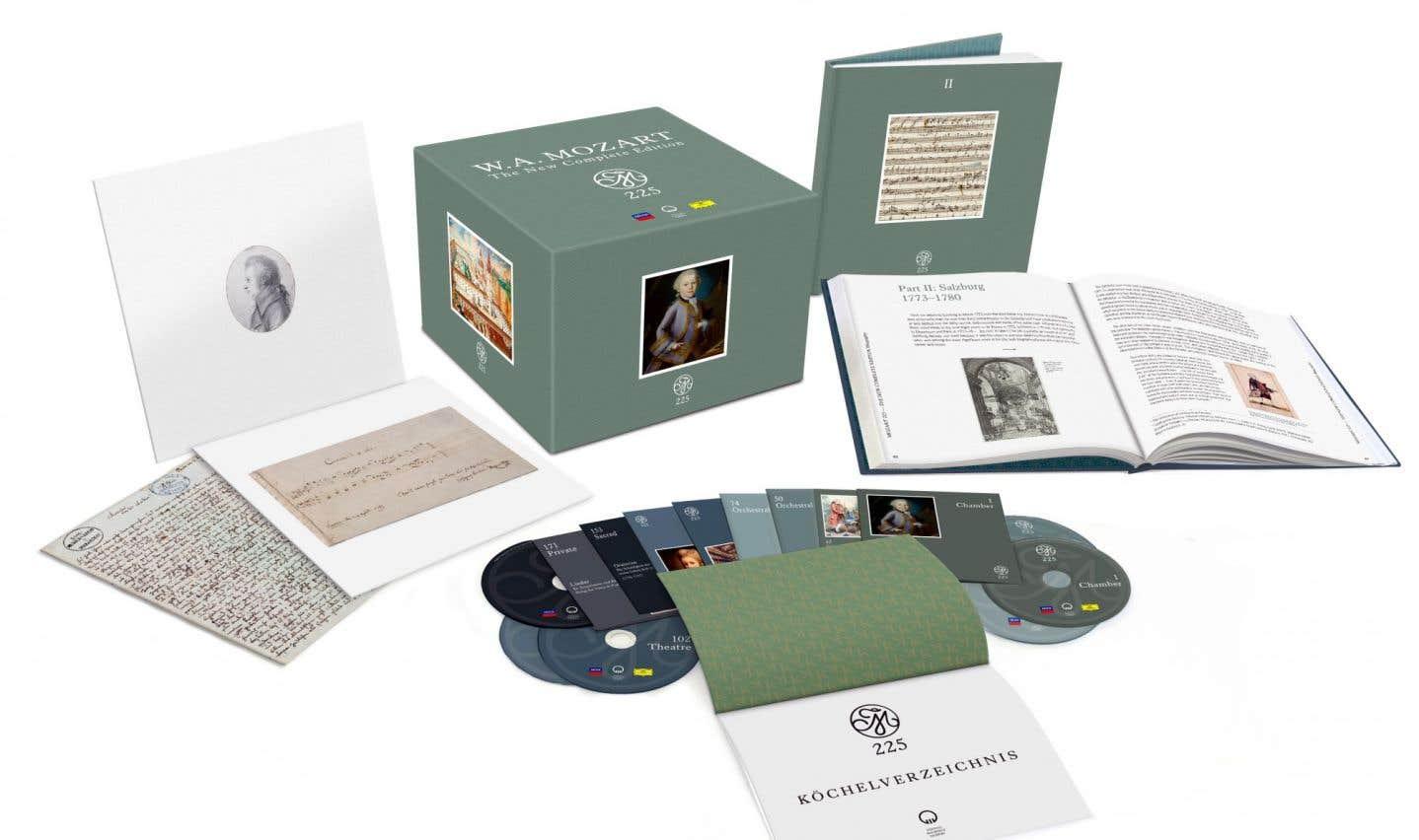 Le «gros cadeau» de l'année est d'évidence la « nouvelle édition complète » des oeuvres de Mozart, publiée par Universal, en collaboration avec la Fondation du Mozarteum de Salzbourg.