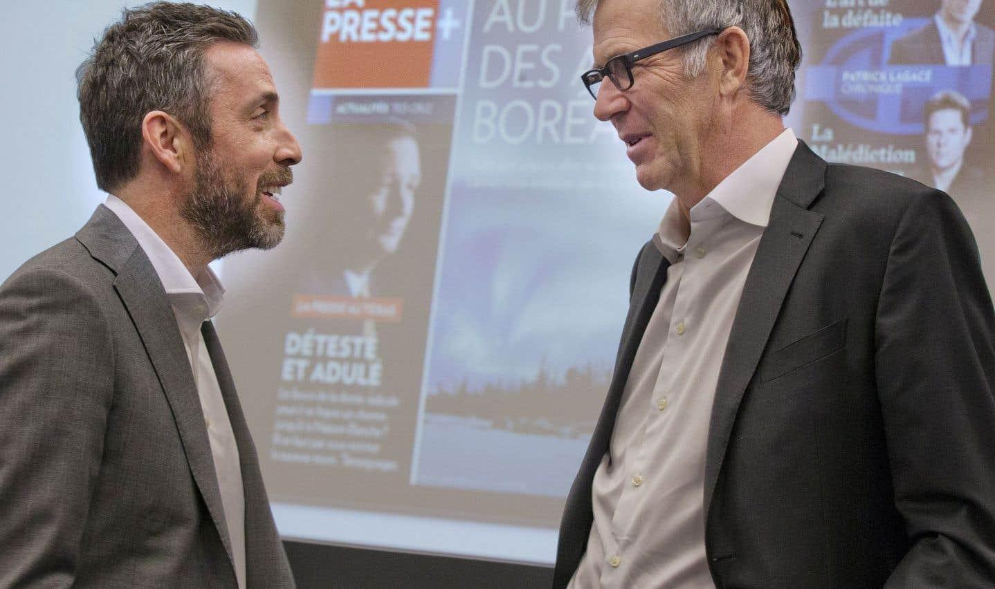 Guy Crevier quitte la gestion quotidienne à «La Presse»