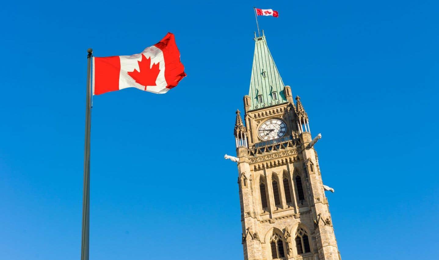 Déficit de 2,4milliards en septembre à Ottawa