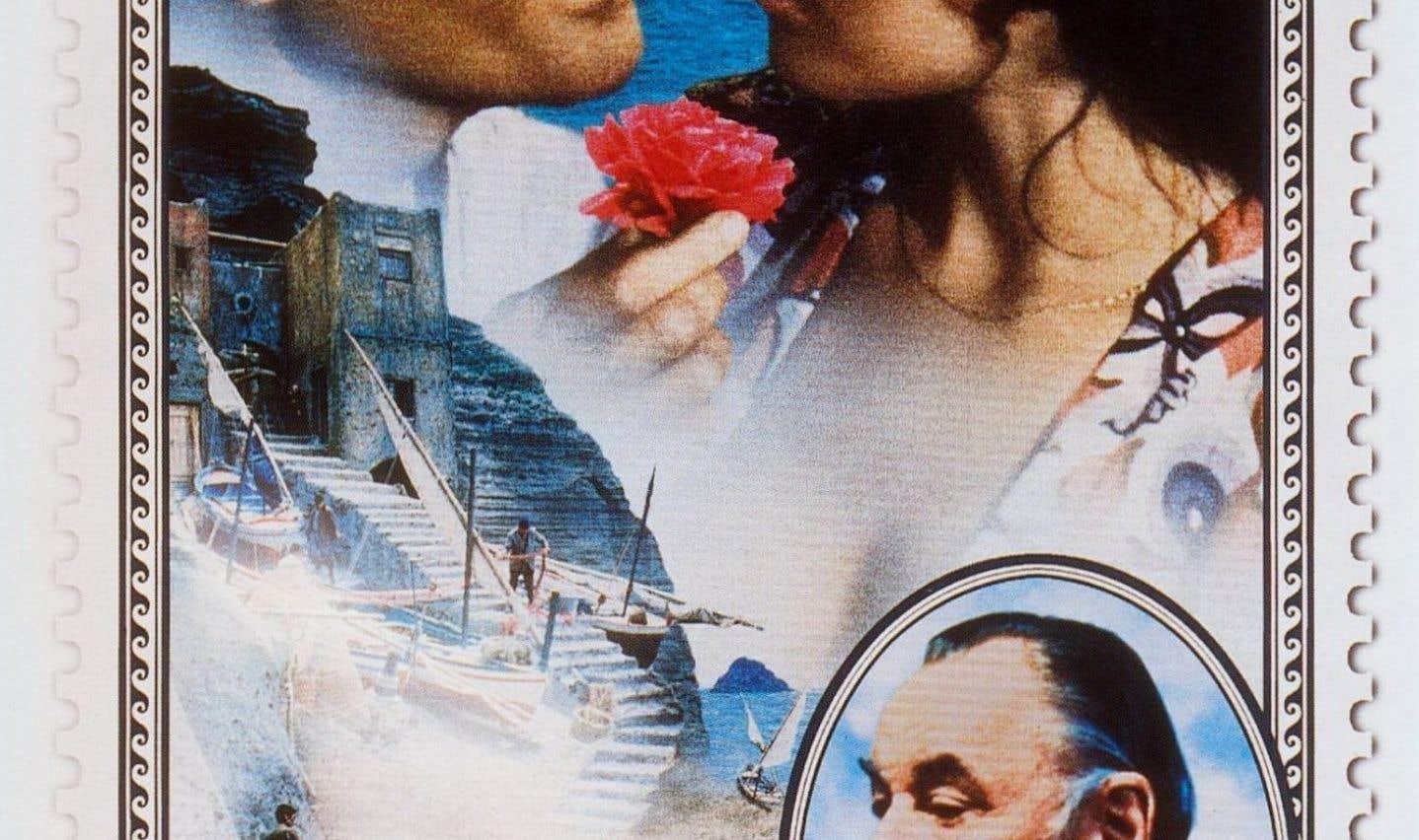 L'affiche originale du film «Le facteur», de Michael Radford
