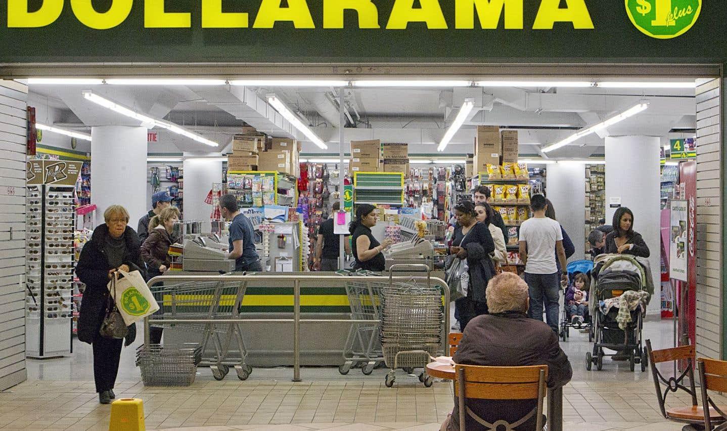 Un répit pour Dollarama sur ses produits importés de Chine