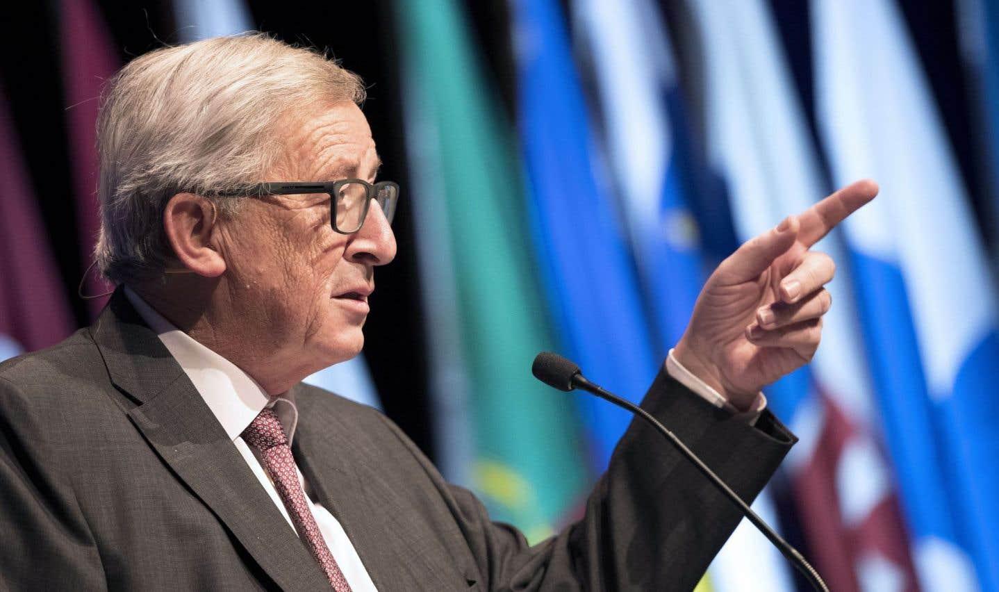 25ans après Maastricht, Juncker met en garde contre l'éclatement