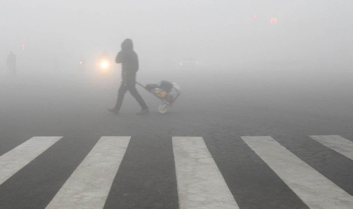Pollution de l'air: «alerte rouge» à Pékin