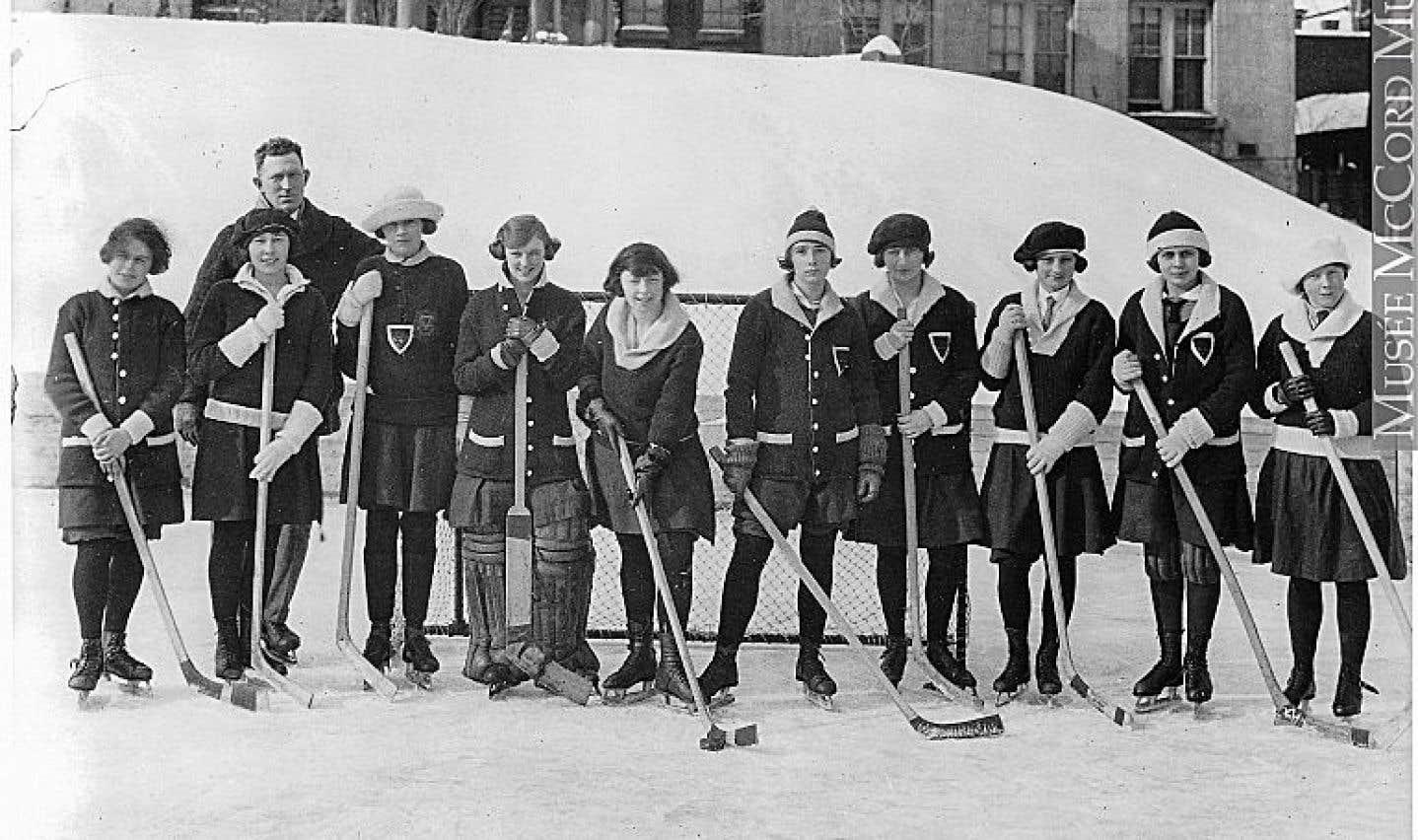 Le hockey des Montréalaises