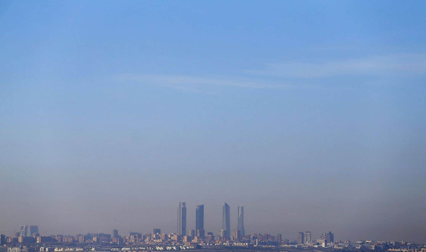 Au tour de Madrid d'être étouffée par la pollution