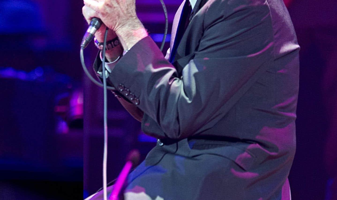 Le décès de Leonard Cohen a causé un véritable séisme sur la planète-musique. Il est photographié ici à Montréal lors d'un concert qu'il a donné au Centre Bell en novembre 2012.