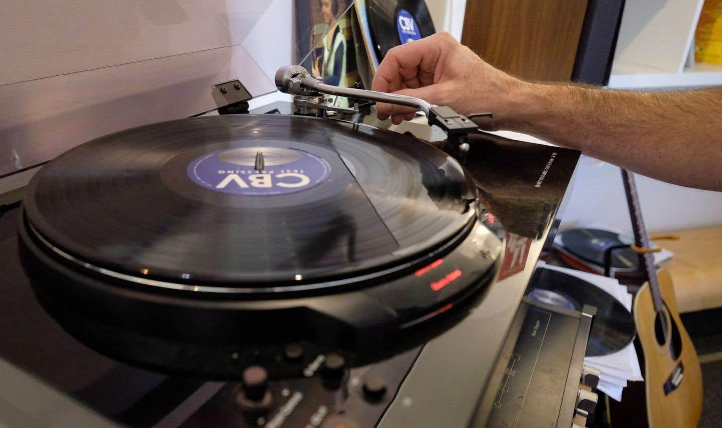 Meilleures ventes de vinyles en 25 ans au Royaume-Uni