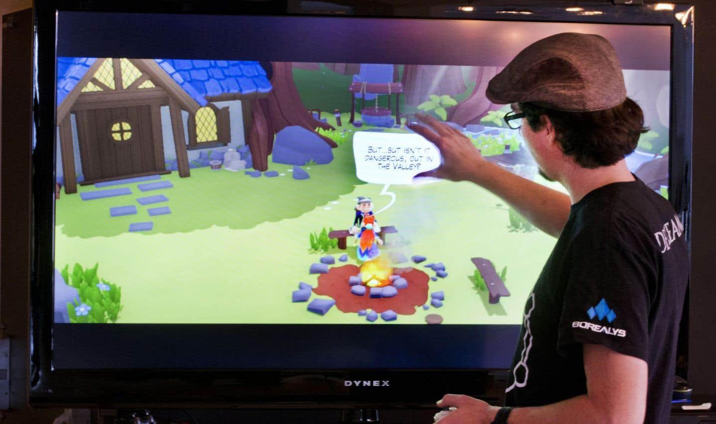Borealys crée un nouveau jeu vidéo déjà traduit en huit langues