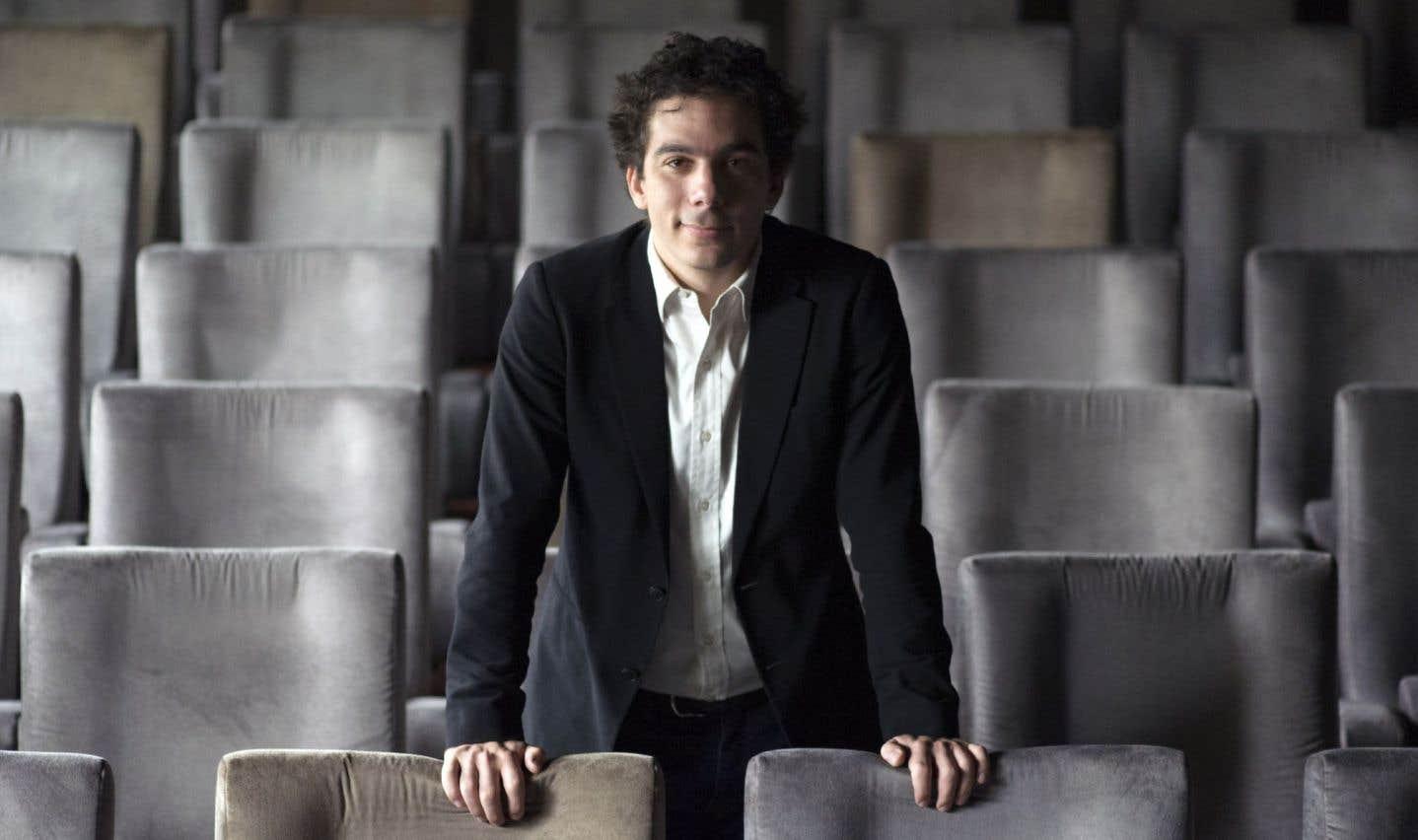 Nathanaël Karmitz,président du directoire de MK2