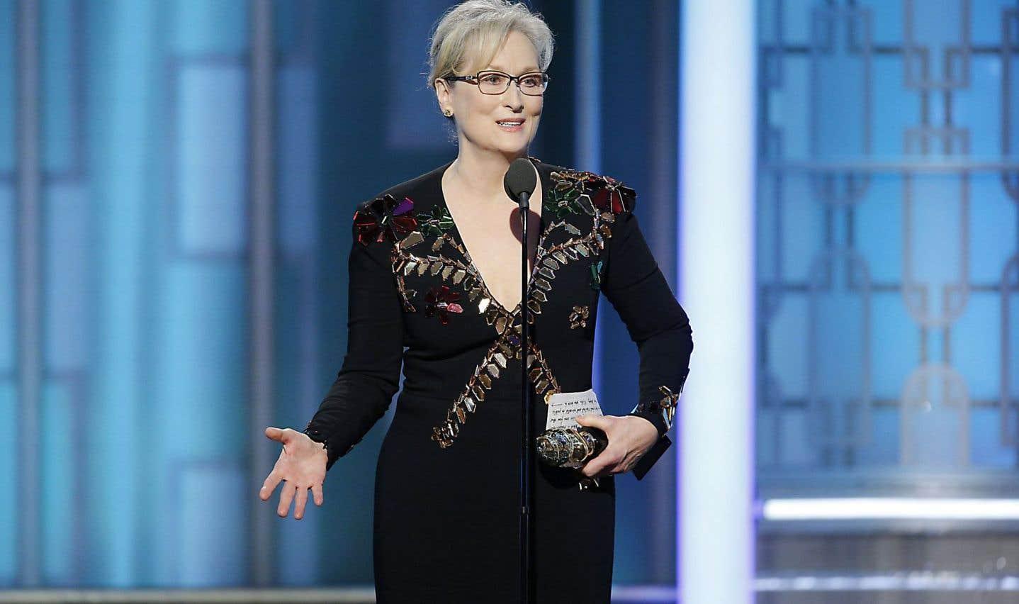 Donald Trump, vexé, vilipende Meryl Streep
