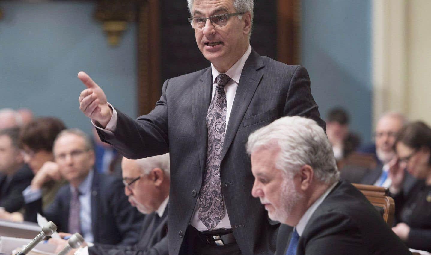 Le ministre responsable des Relations canadiennes, Jean-Marc Fournier