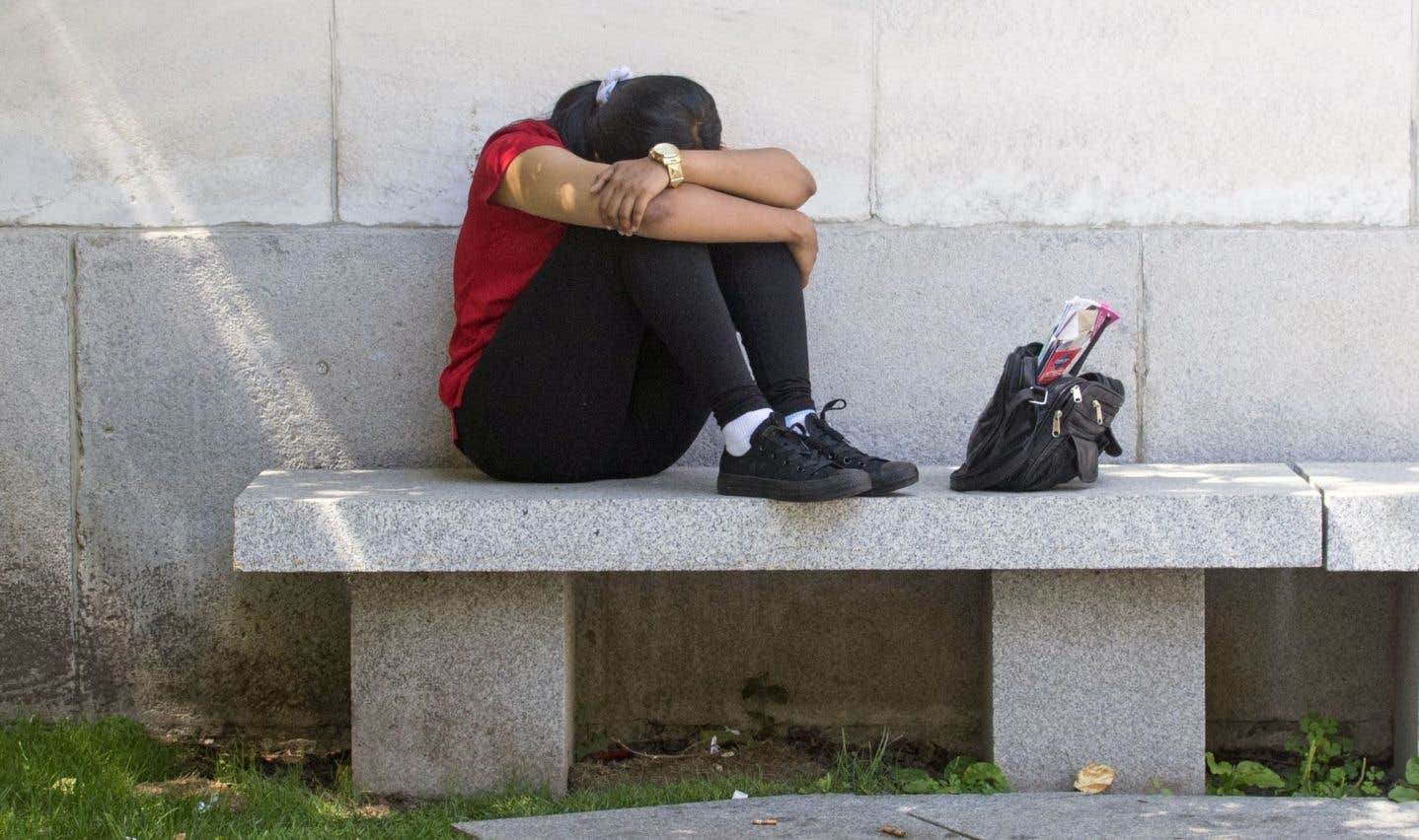 La dépression frappe durement les jeunes Canadiens