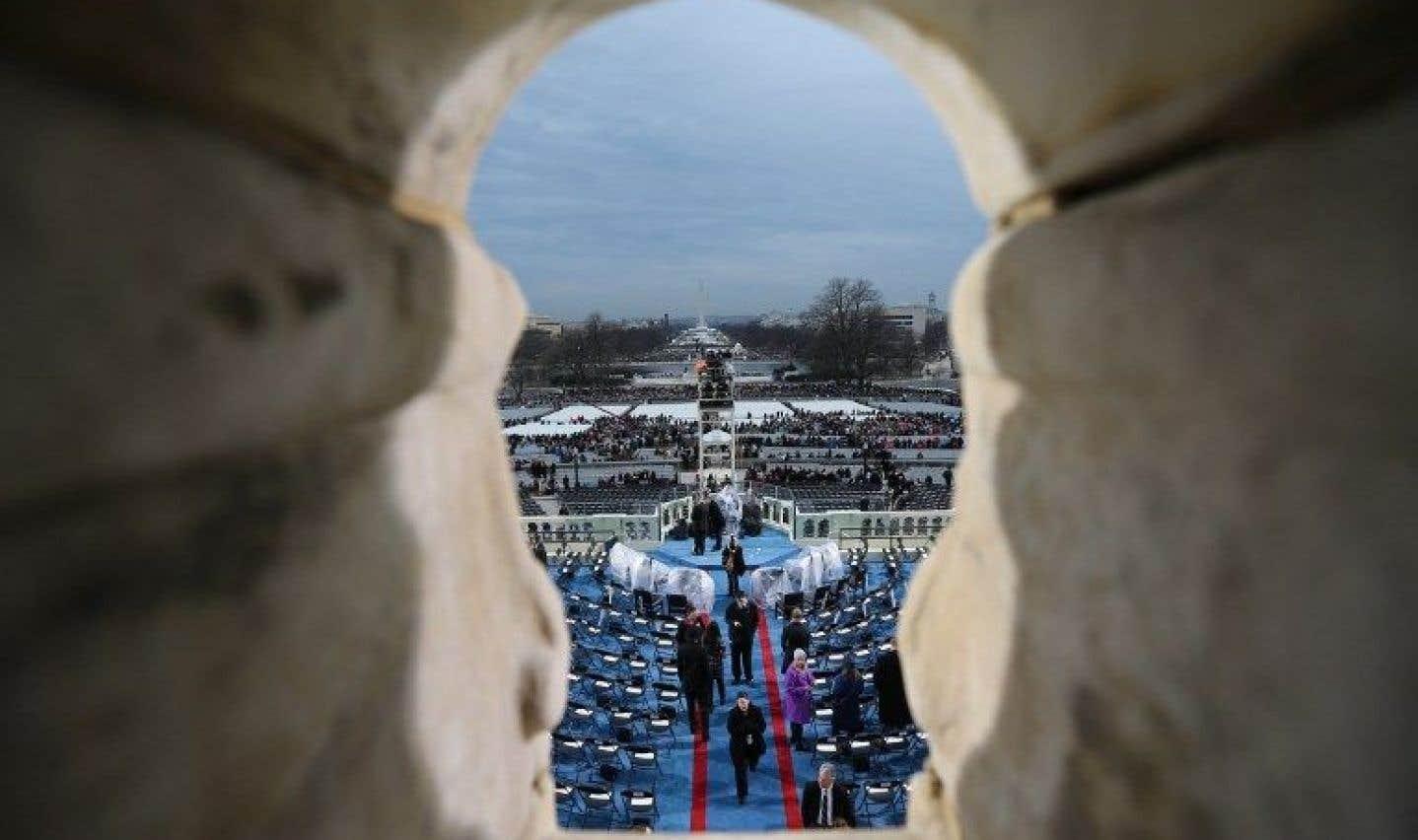 Trump accuse les médias de mentir sur la taille de la foule venue l'écouter